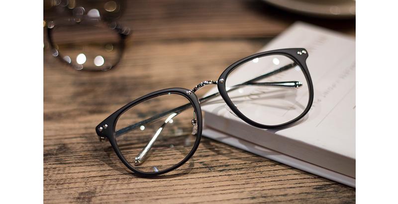 G-010 男/女款 膠框/圓框/大框 防藍光眼鏡