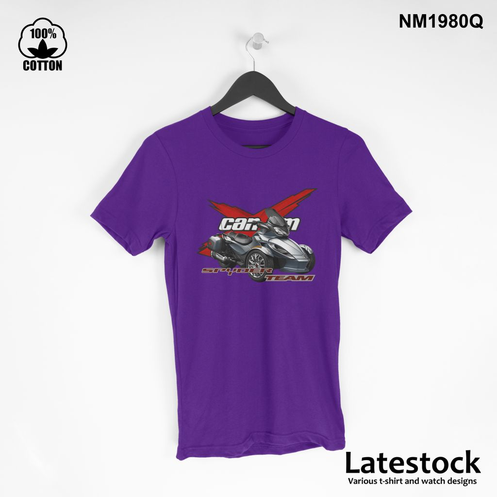 1 can am spider RS LOGO Sport T Shirt Tee Mens Clothing Blue Violet.jpg