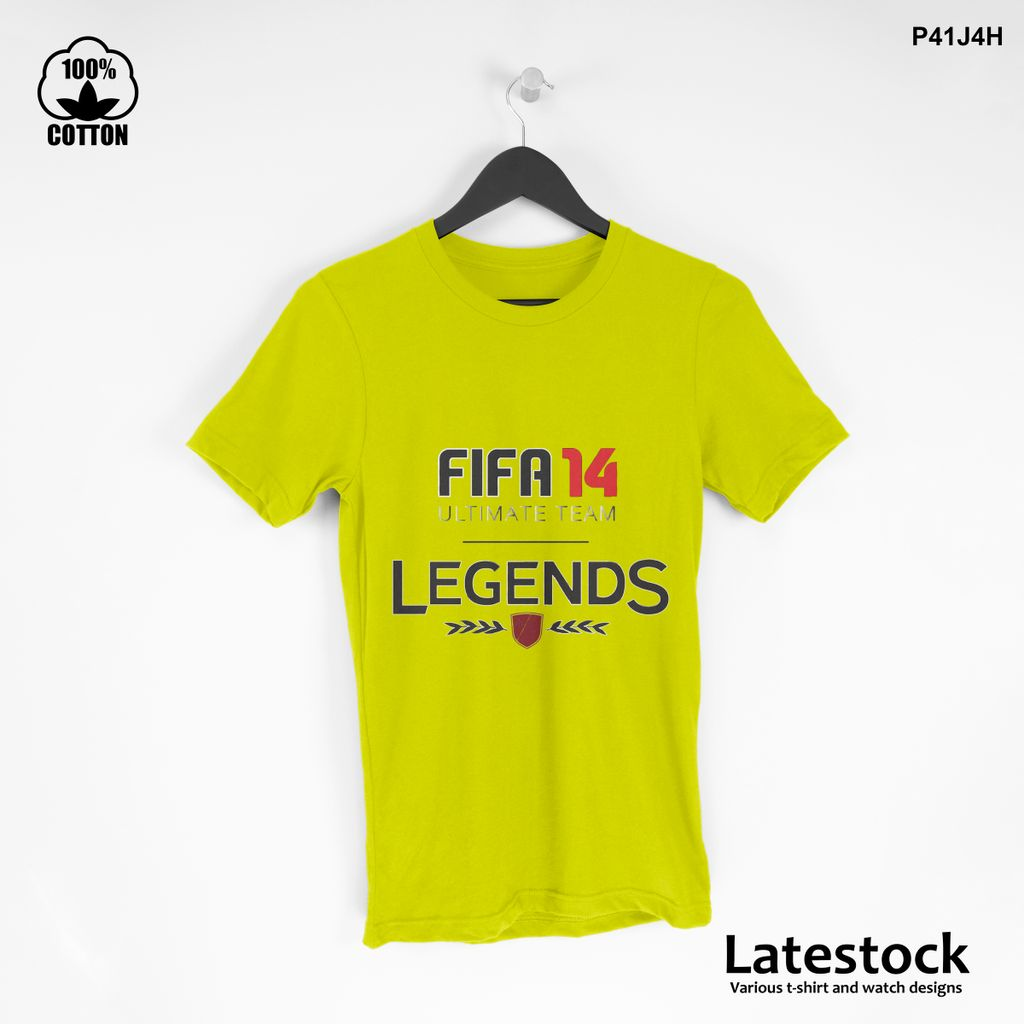 1 LIMITED EDITION!! FIFA 14 ULTIMATE TEAM LEGENDS T-SHIRT Yellow.jpg