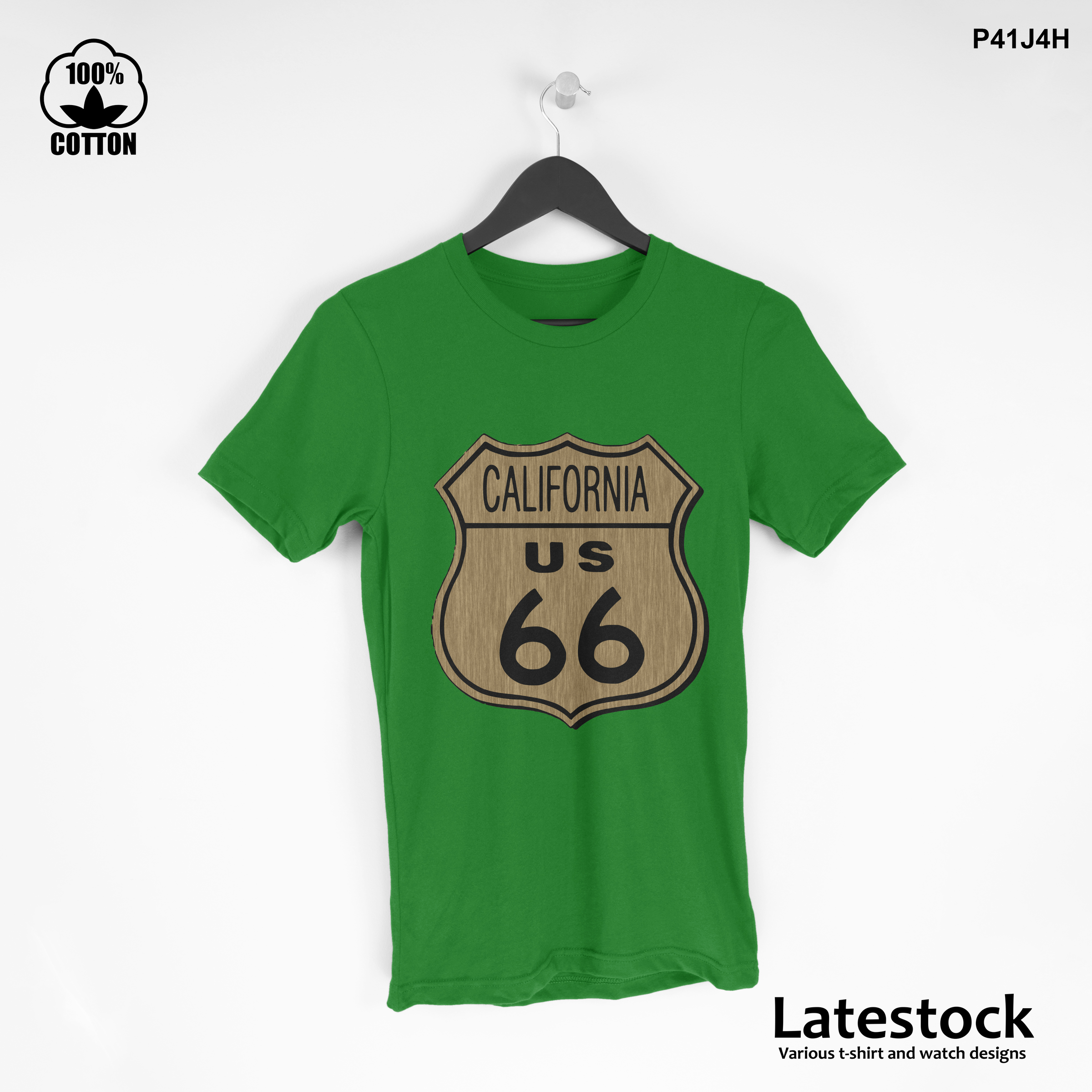 1 LIMITED EDITION!! Route 66 California Graphic T shirt Spring green.jpg
