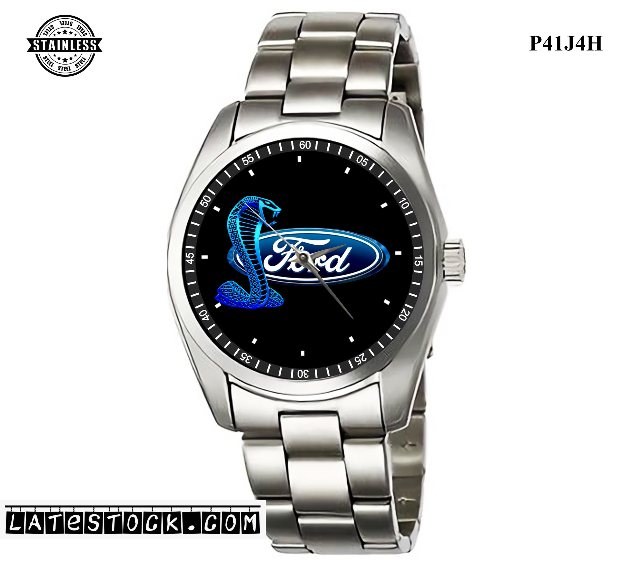 1LIMITED EDITION!!Ford Mustang Shelby Cobra Sport Metal Watch B.jpg