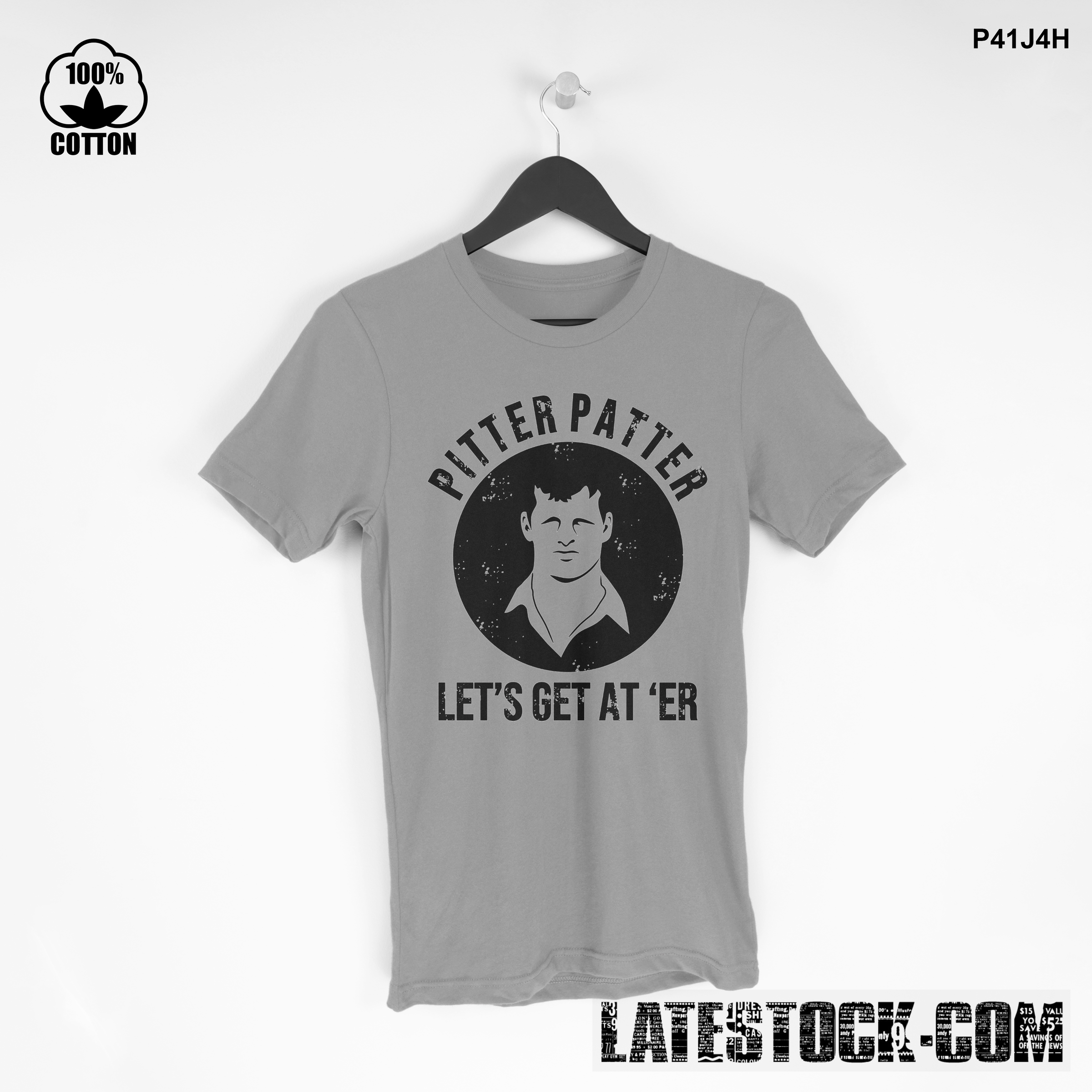 1LIMITED EDITION!! PITTER PATTER T SHIRT Gainsboro.jpg