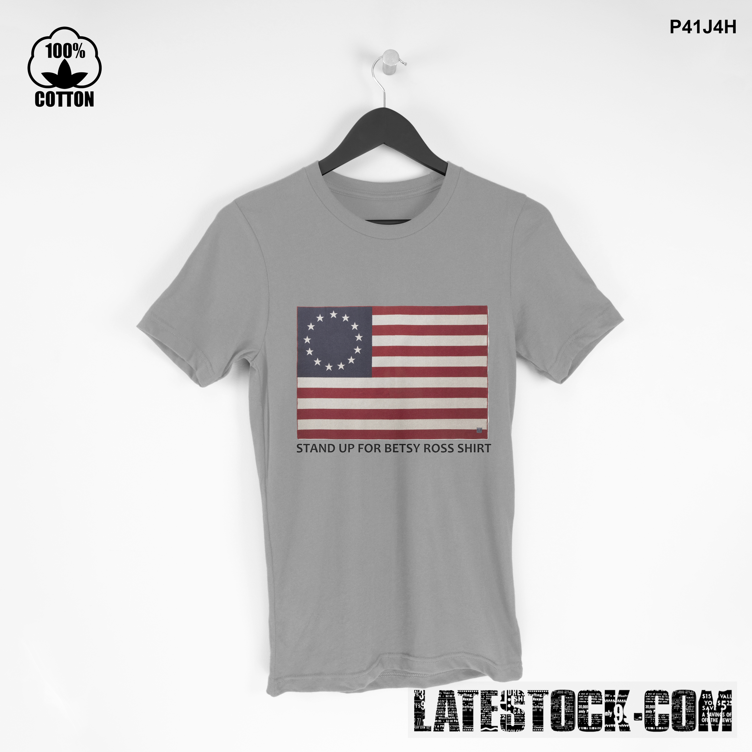 1LIMITED EDITION!! Stand Up for Betsy Ross T SHIRT Gainsboro.jpg