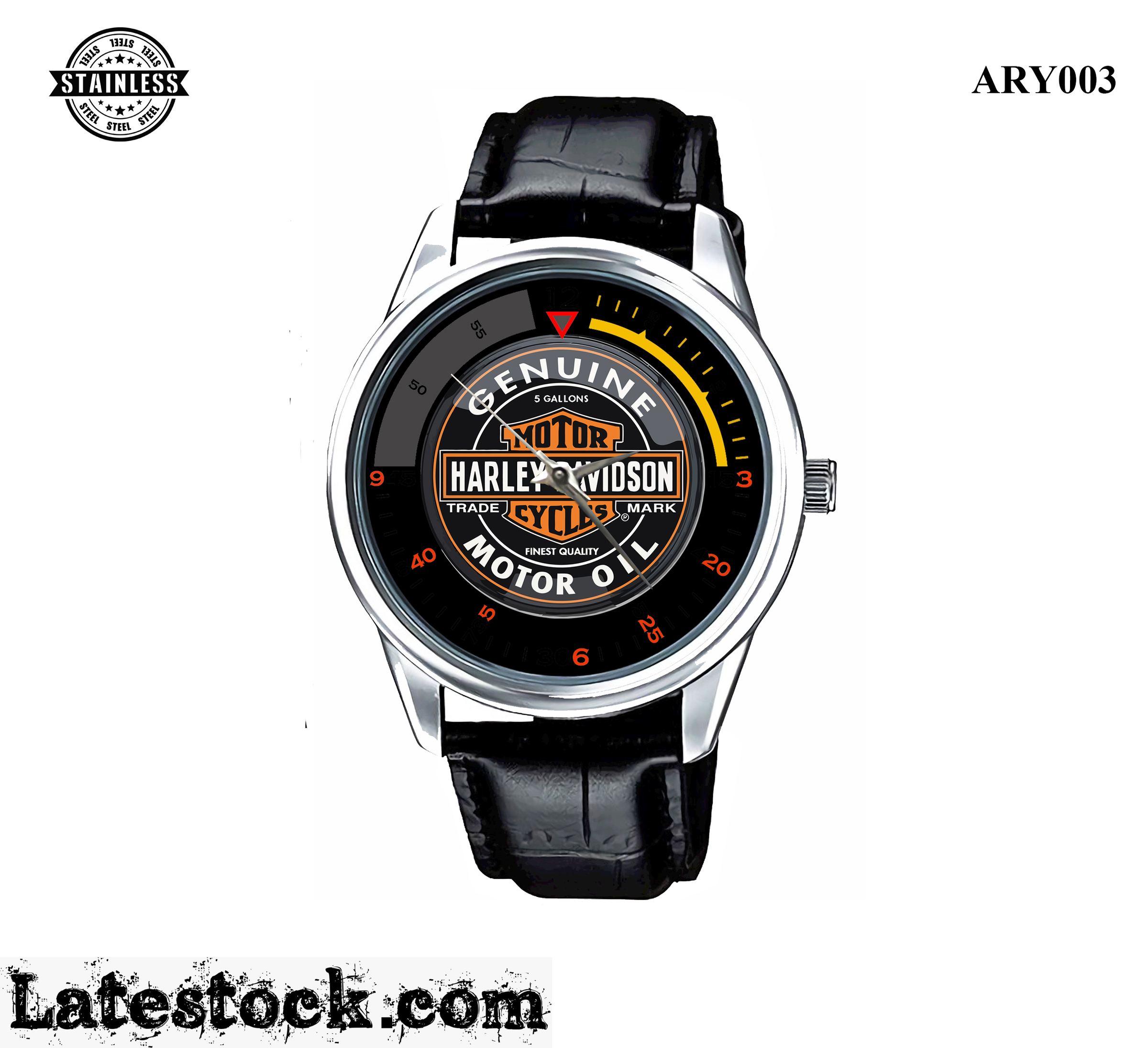 3.Rare new design_Harley Davidson Genuine_Sport Metal Watches.jpg