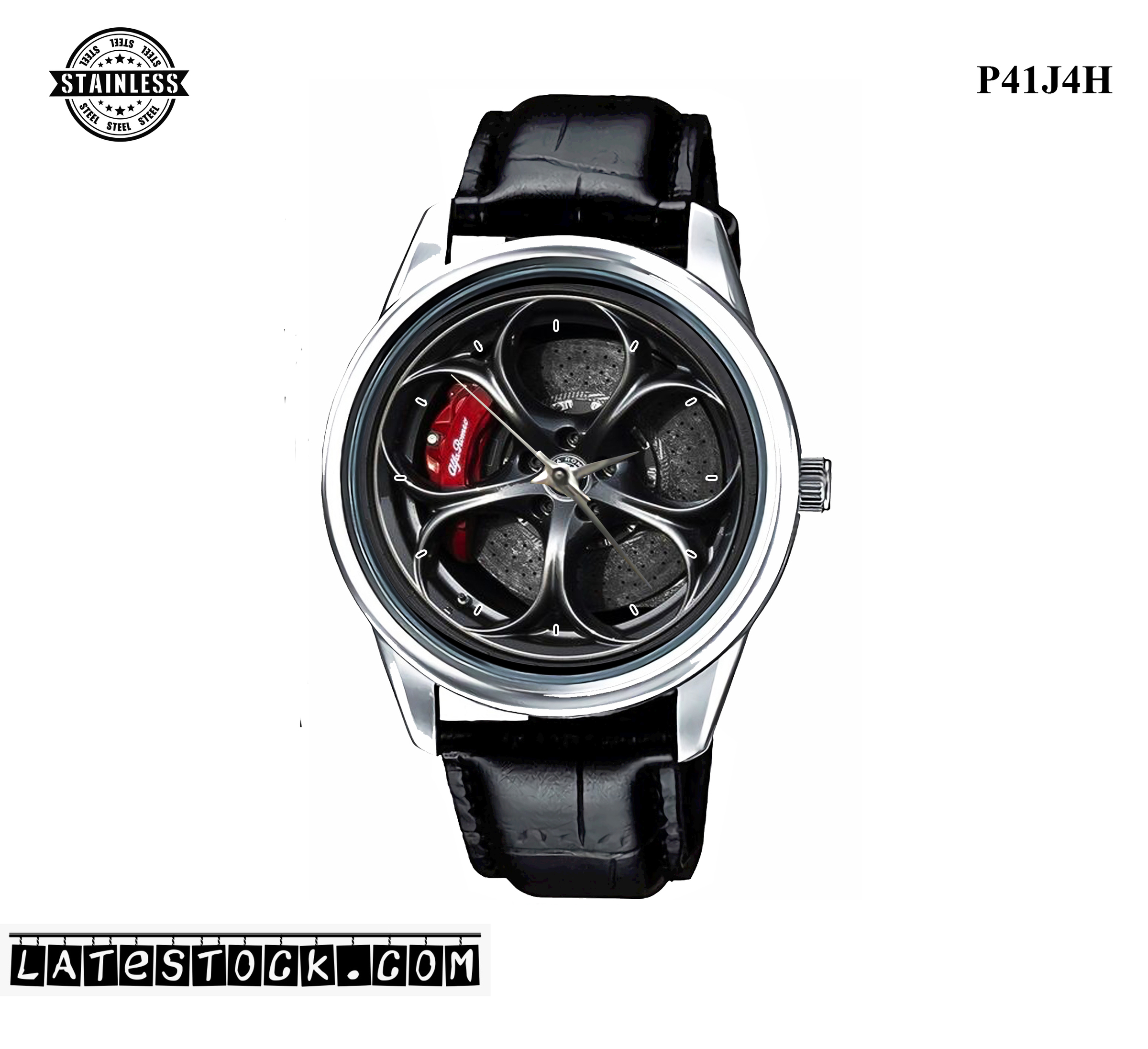PJ09 LIMITED EDITION!! Alfa Romeo Giulia Quadrifoglio steel Sport Metal Watch a - Copy.jpg