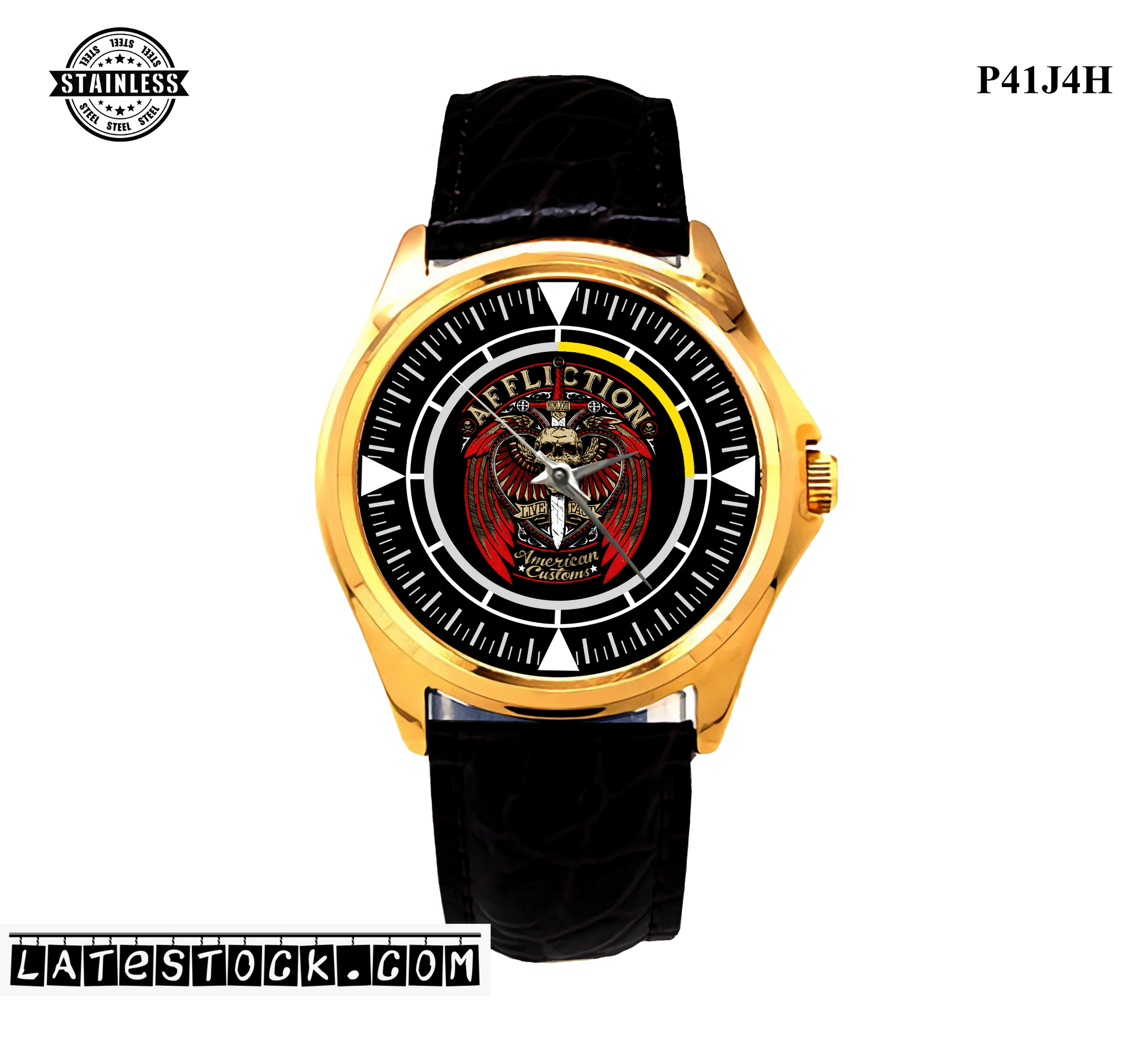 2LIMITED EDITION!! Affliction American Logo men's Sport Metal Watches.jpg
