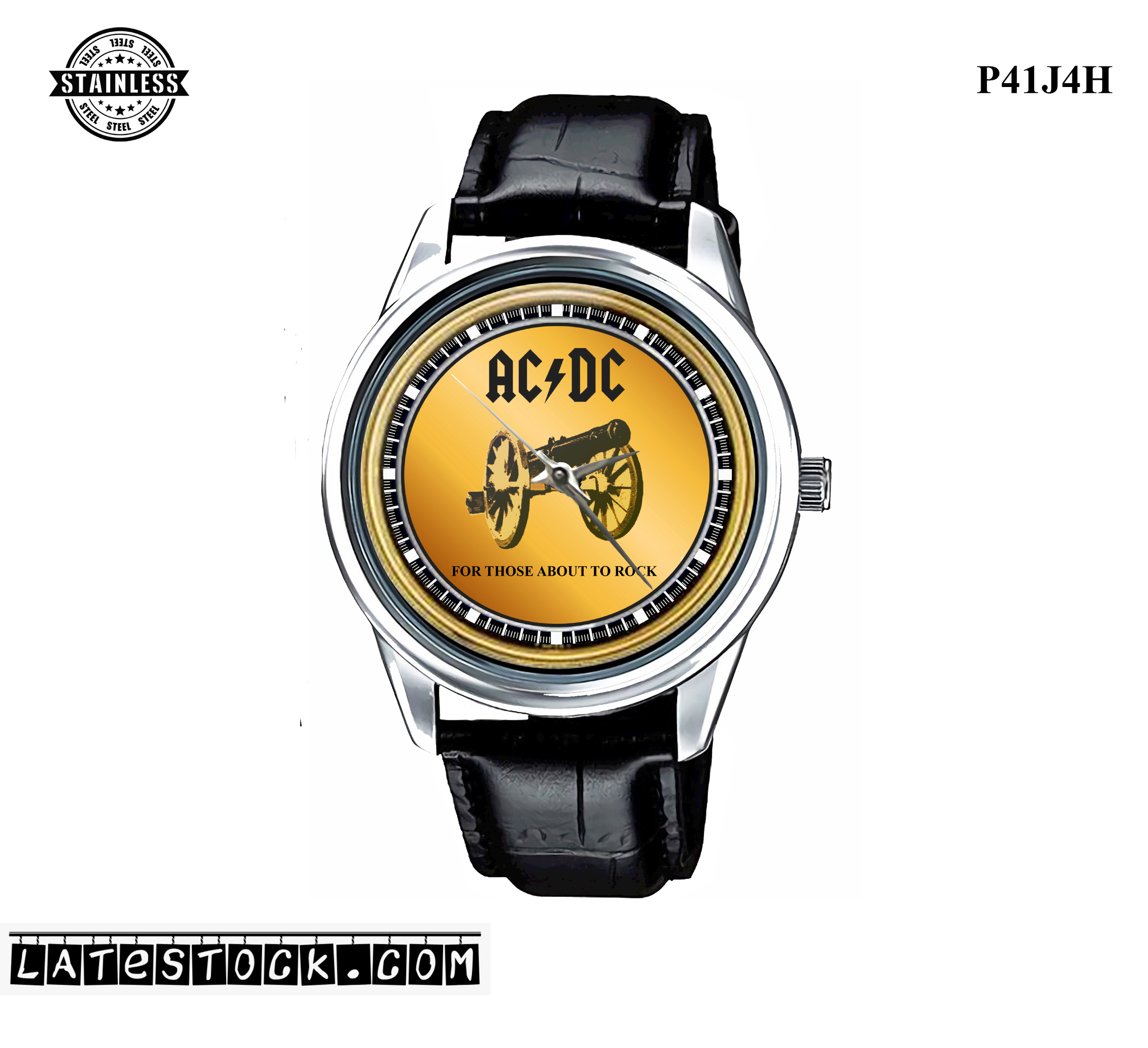 PJ02 LIMITED EDITION!! ACDC FOR THOSE ABOUT TO ROCK Sport Metal Watch a.jpg