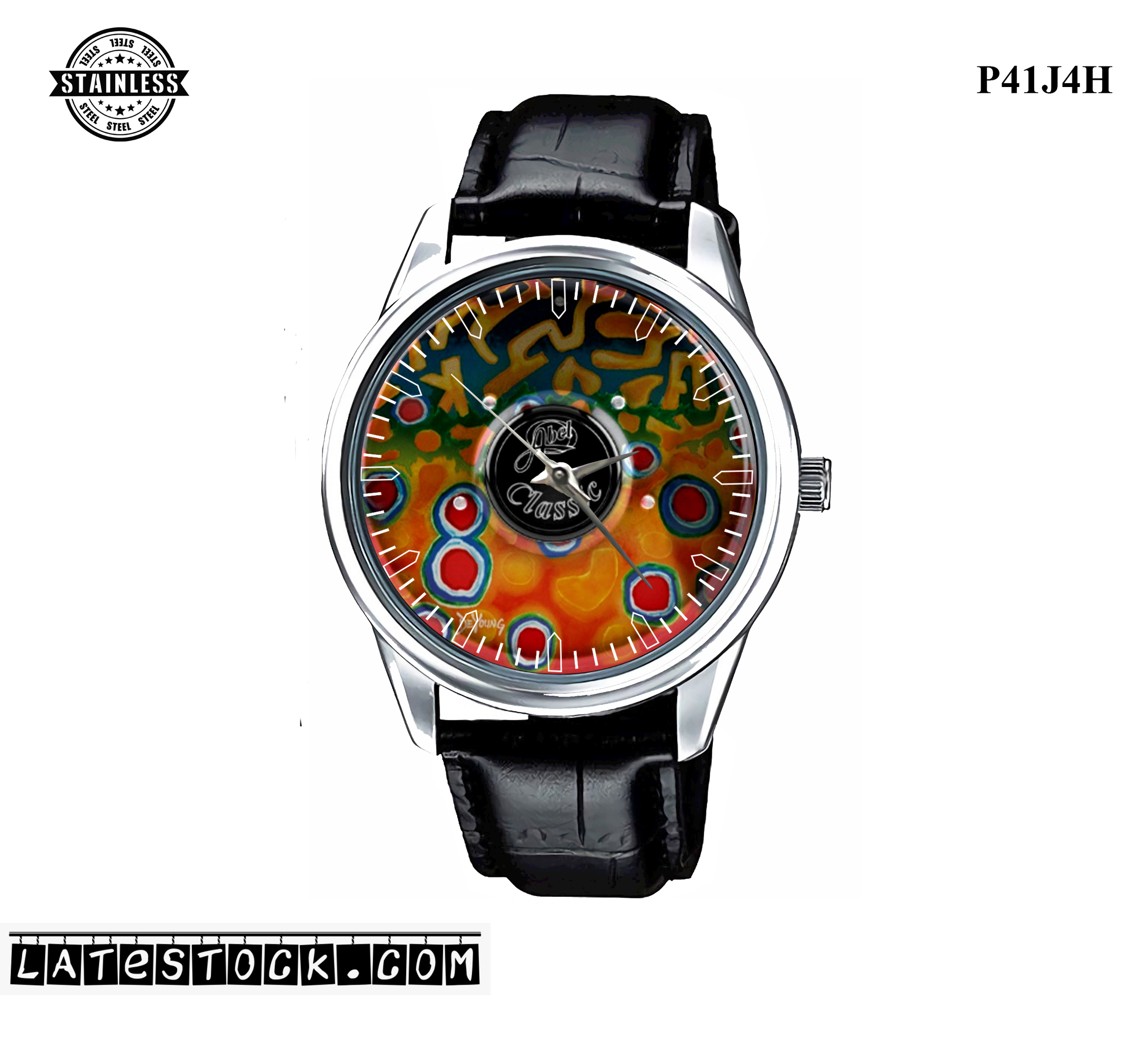 PJ04 LIMITED EDITION!!Abel Classic Graphics MAIN DeYoung Sport Metal Watch a.jpg