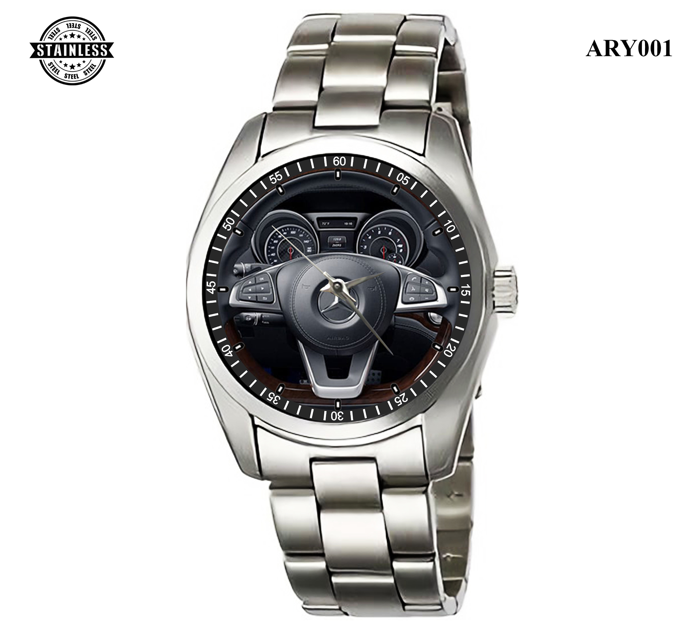 ARY001_Rare Design_Mercedes Benz SL Roadster_Sport Metal Watch.jpg