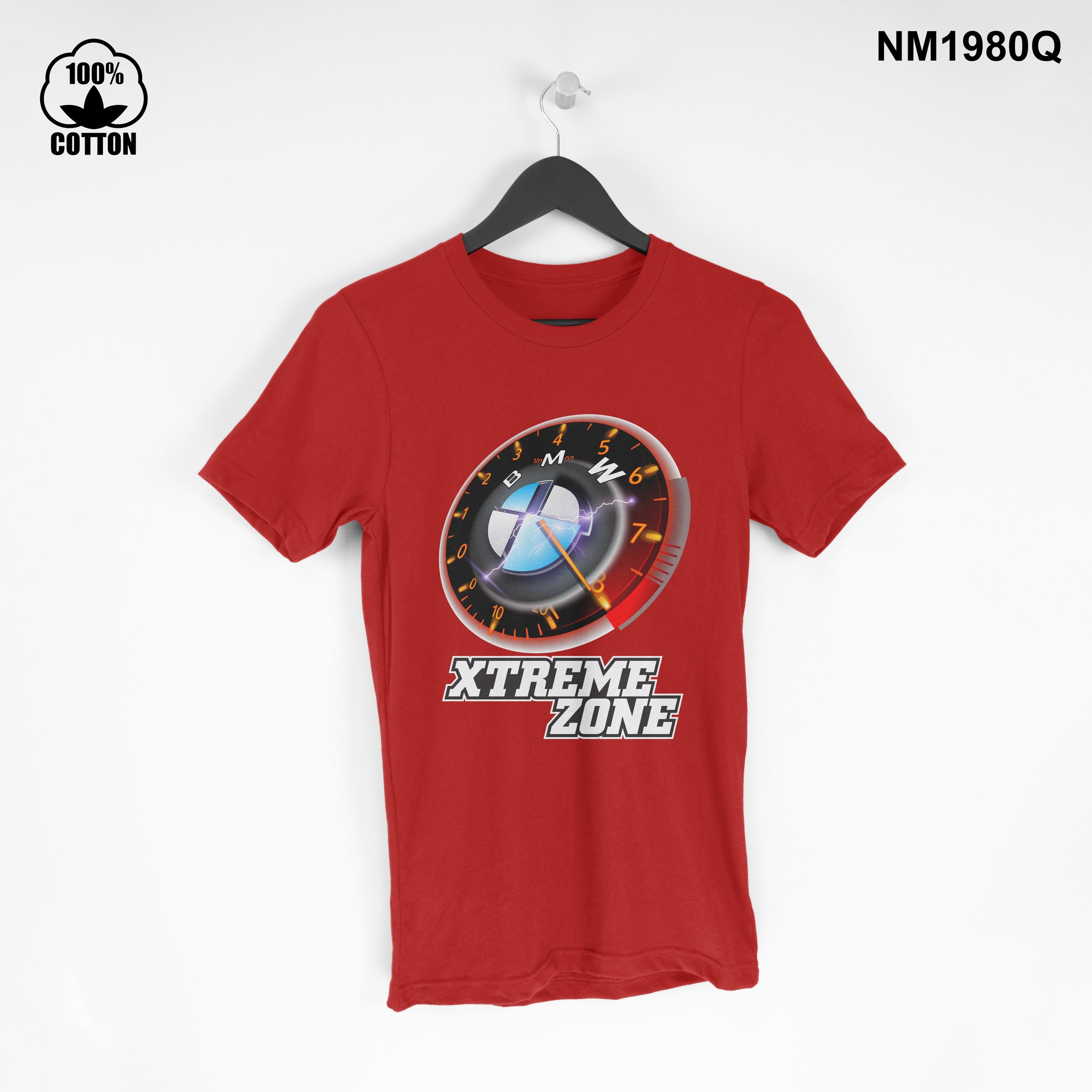1.34 New Design BMW-MAX-Speed XTREME ZONE Short Sleeve Mens Clothing T Shirt Tee red.jpg