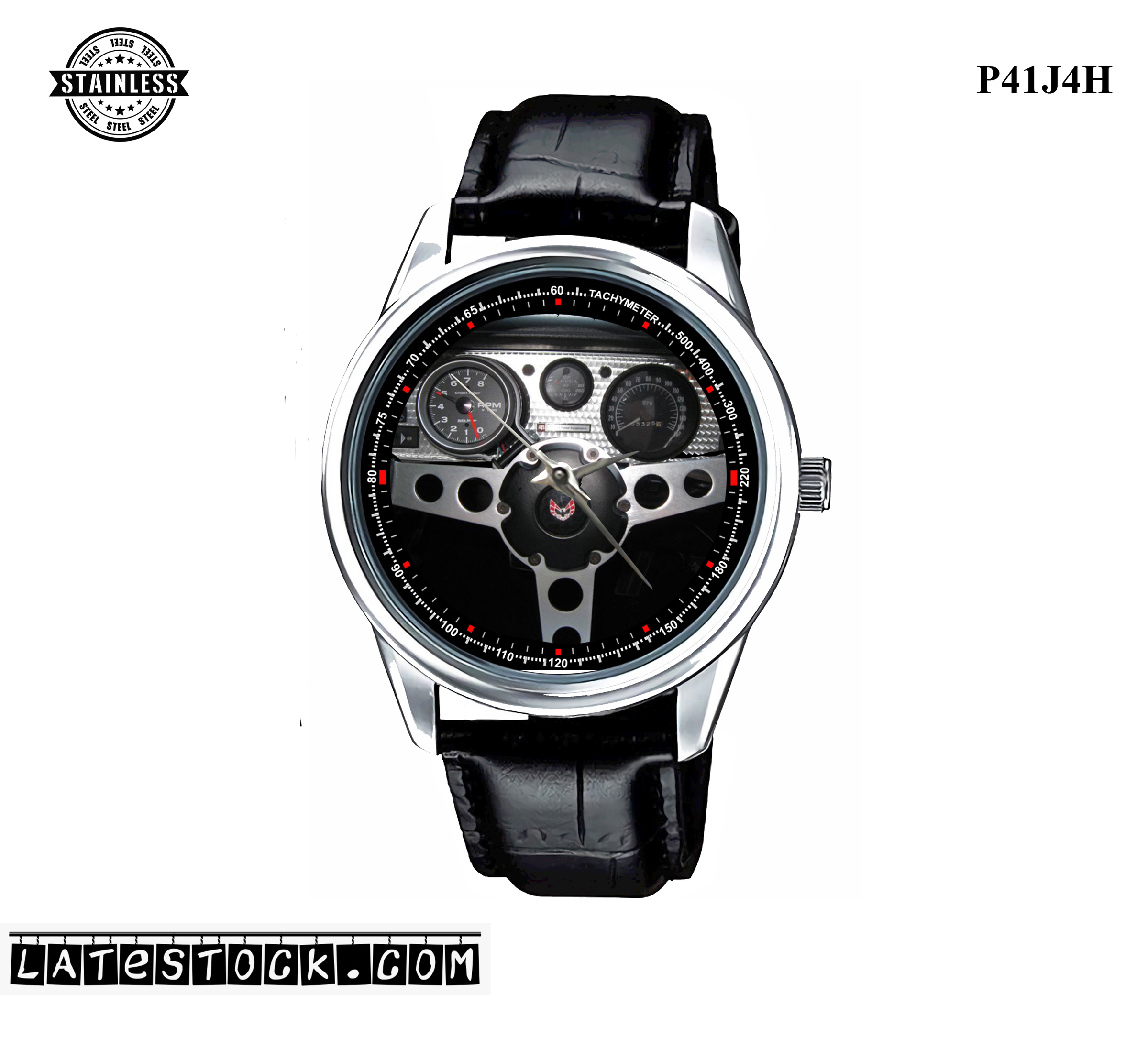 PJ21 LIMITED EDITION!! 1978 Pontiac Trans Am FirebirdS Sport Metal Watch a.jpg