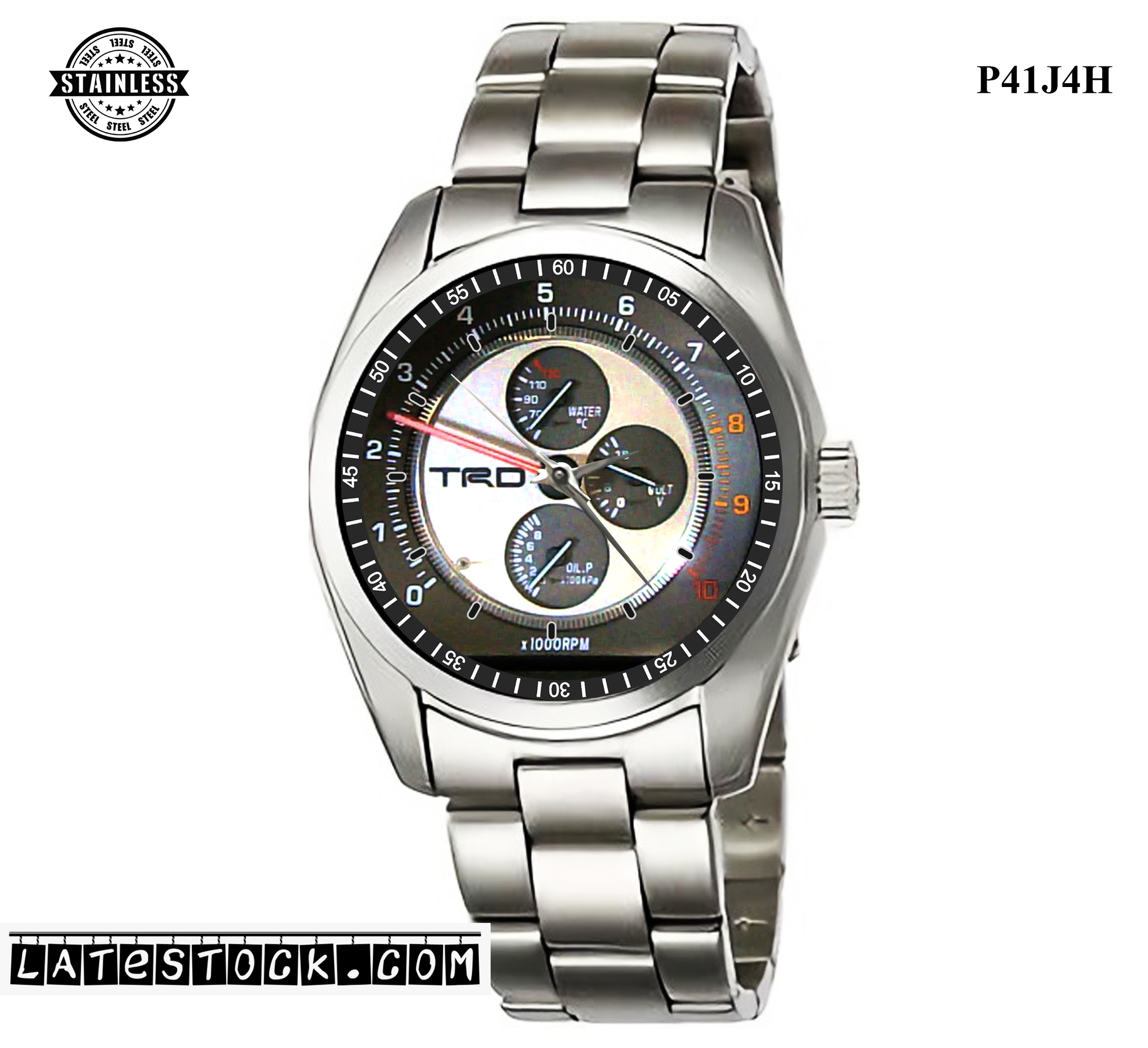 LIMITED EDITION!! ALTEZZA RS200 TRD RACING Speedometer Sport Metal Watch b.jpg