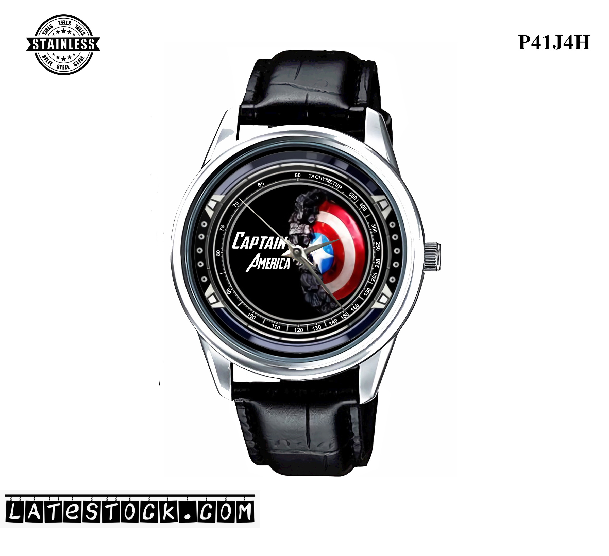 PJ33 LIMITED EDITION!! Captain America Sport Metal Watch a.jpg