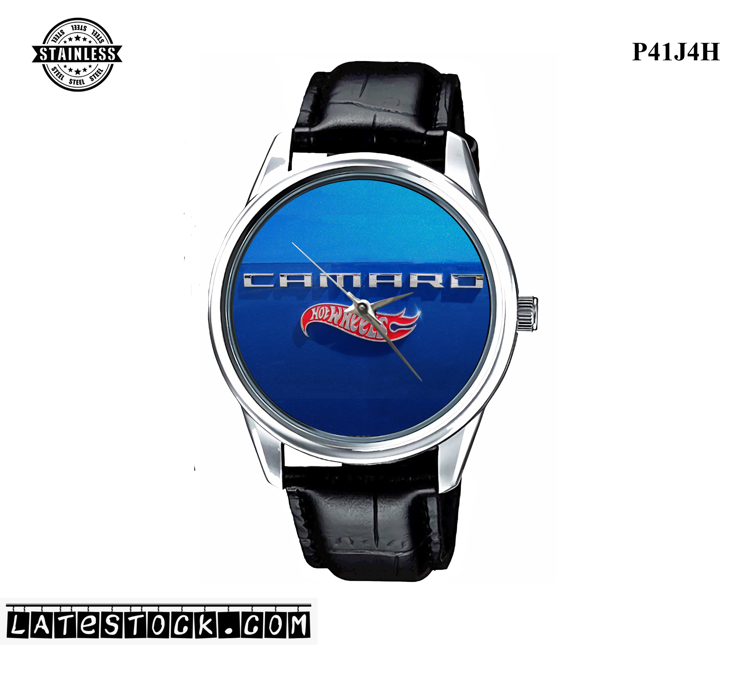 PJ46 LIMITED EDITION!! camaro hotwheels logo Sport Metal Watch a.jpg