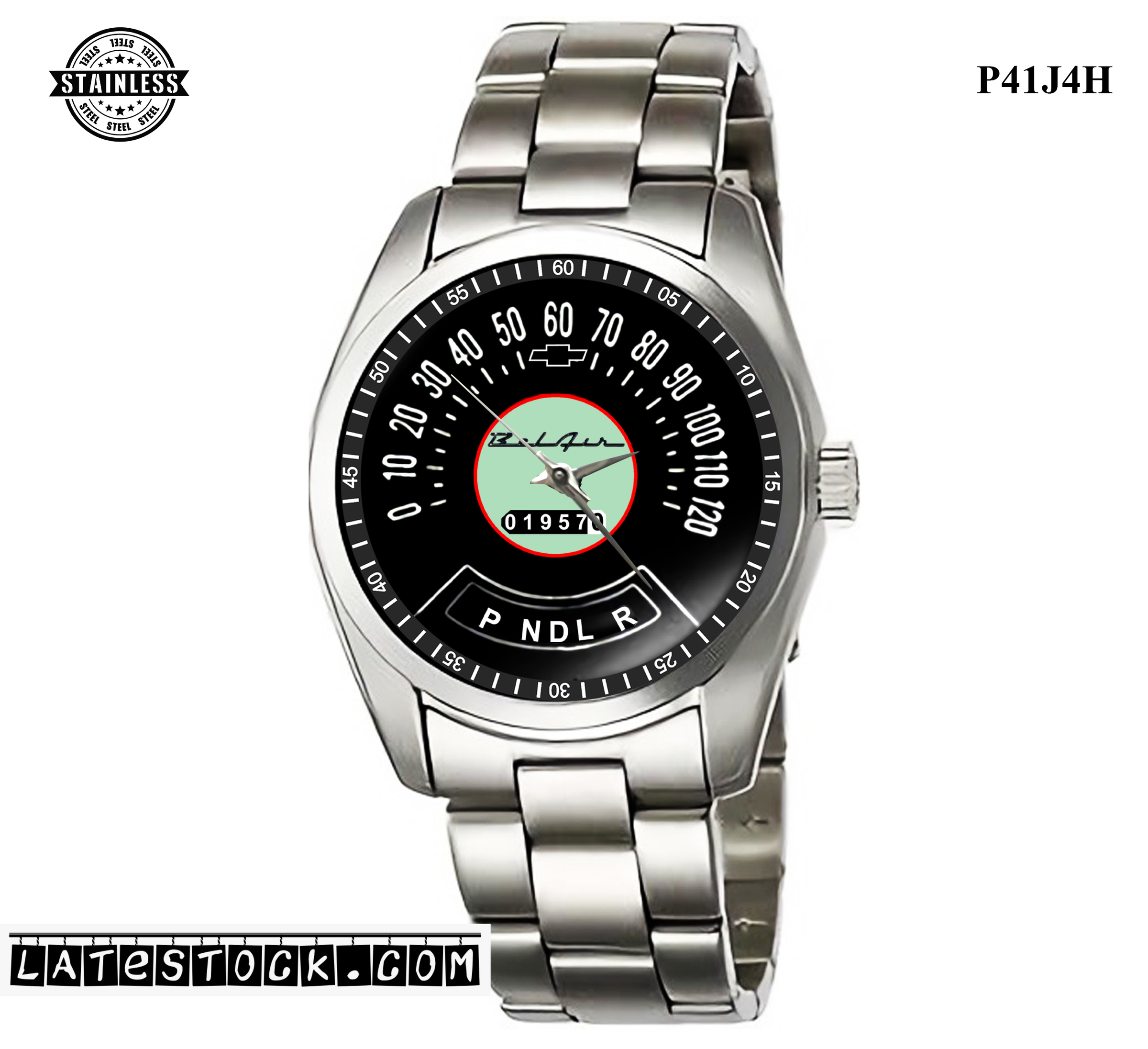 LIMITED EDITION!! Chevrolet Classic Speedometer Sport Metal Watch.jpg