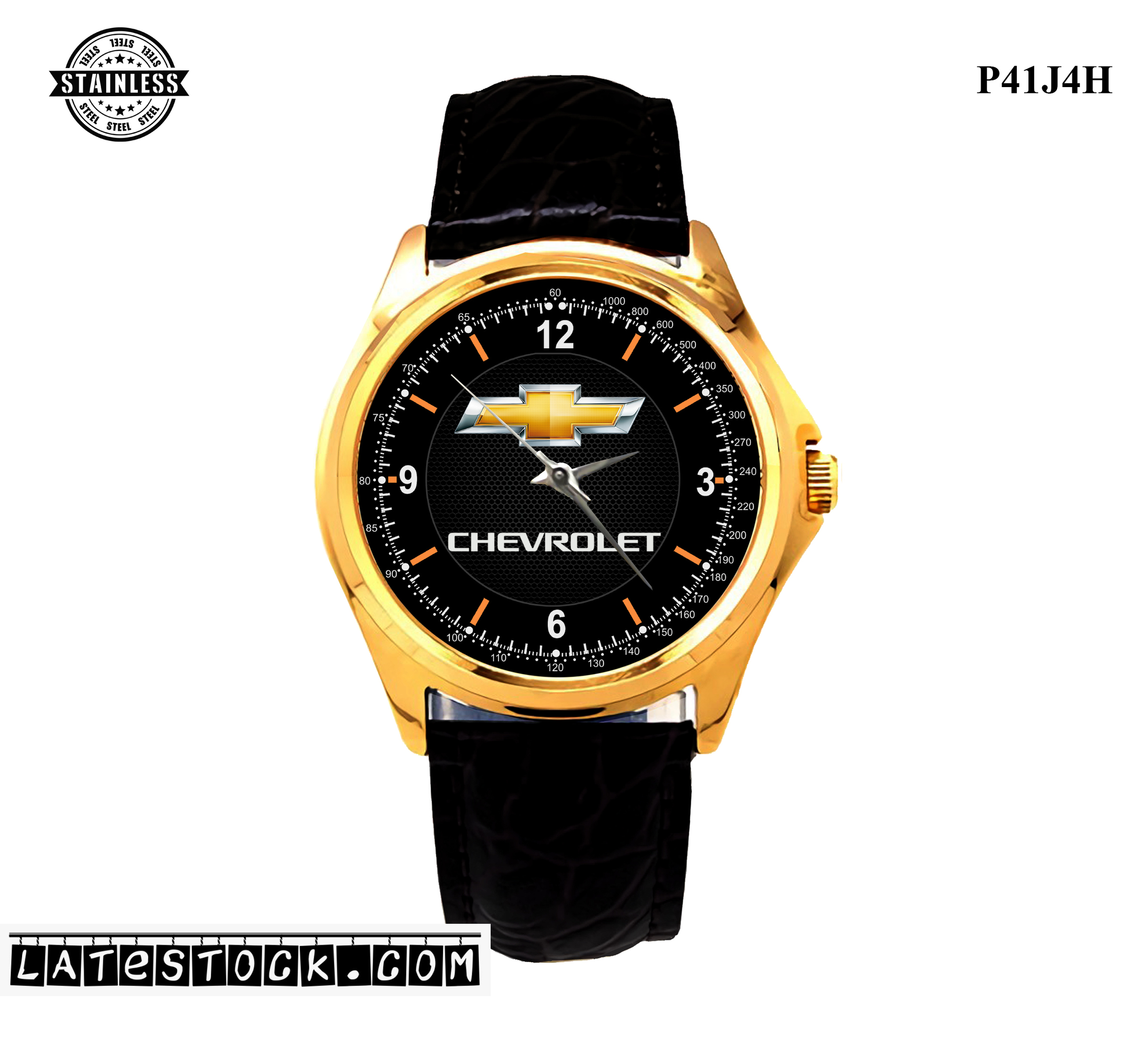 LIMITED EDITION!! Chevrolet Emblem  Sport Metal Watch b.jpg