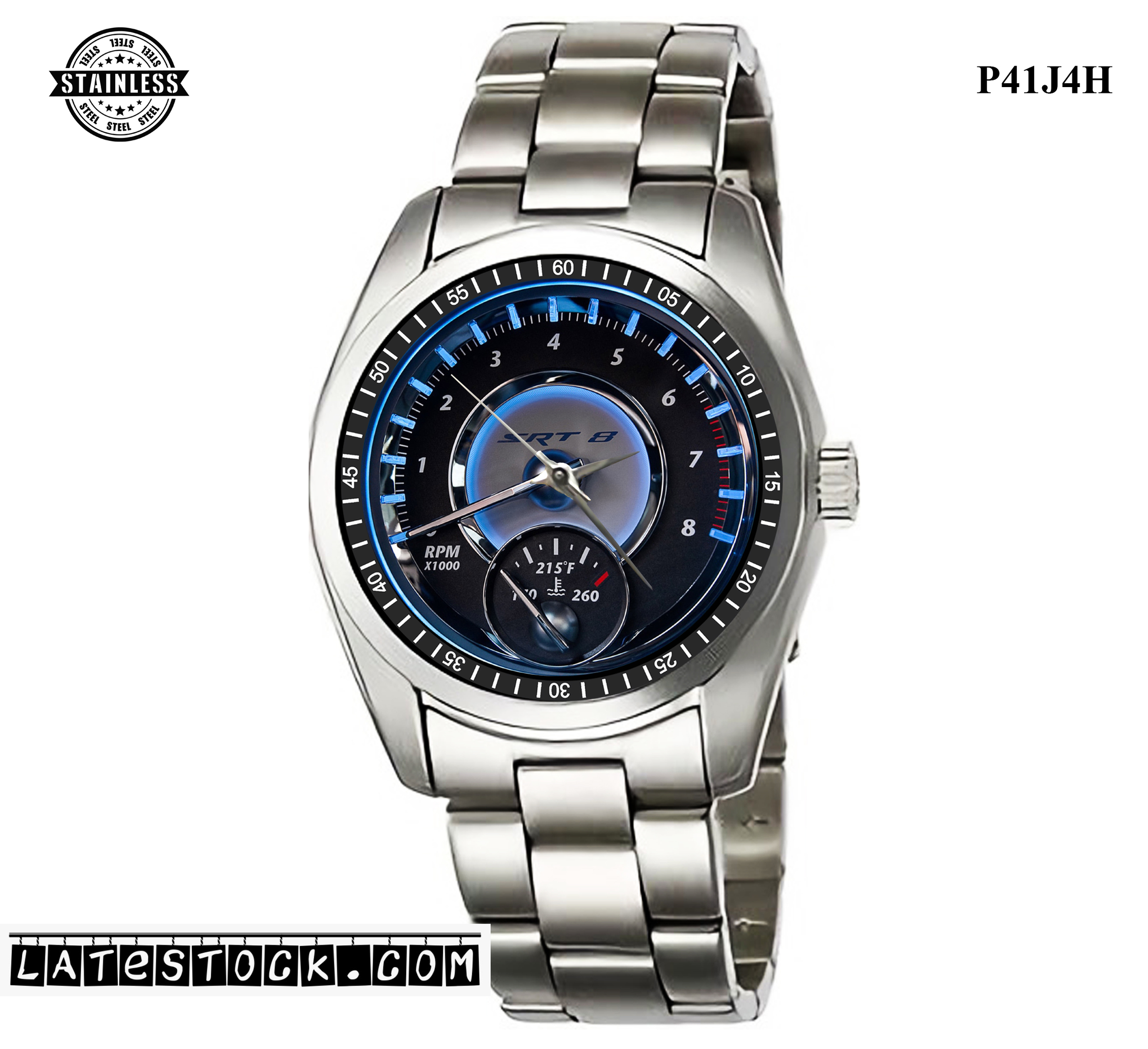 LIMITED EDITION!! Chrysler 300 SRT8 First Drive leatherband exclusive design Sport Metal Watch.jpg