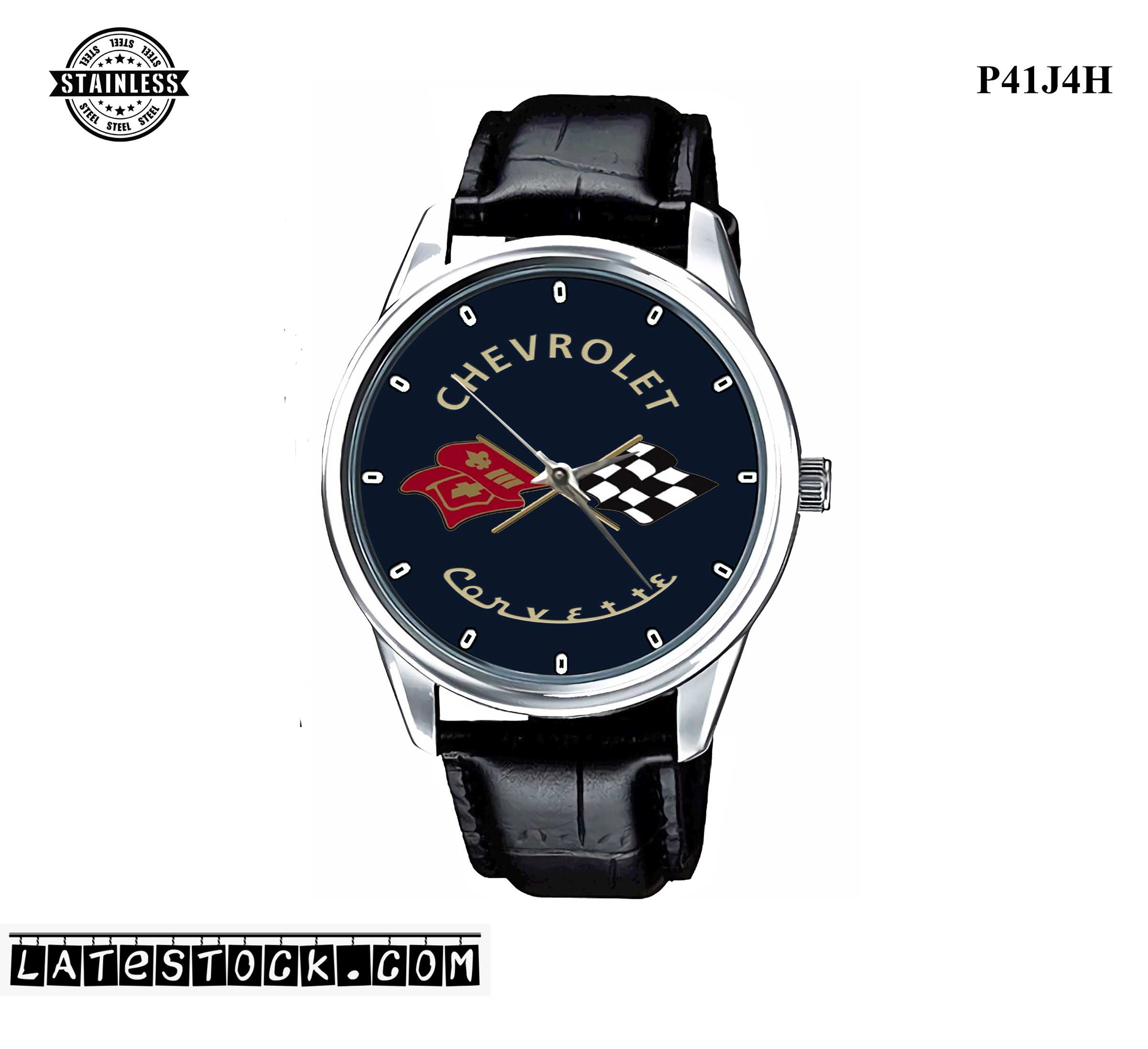 LIMITED EDITION!! Corvette American Muscle Carbon Sport Metal Watch PJ89.jpg