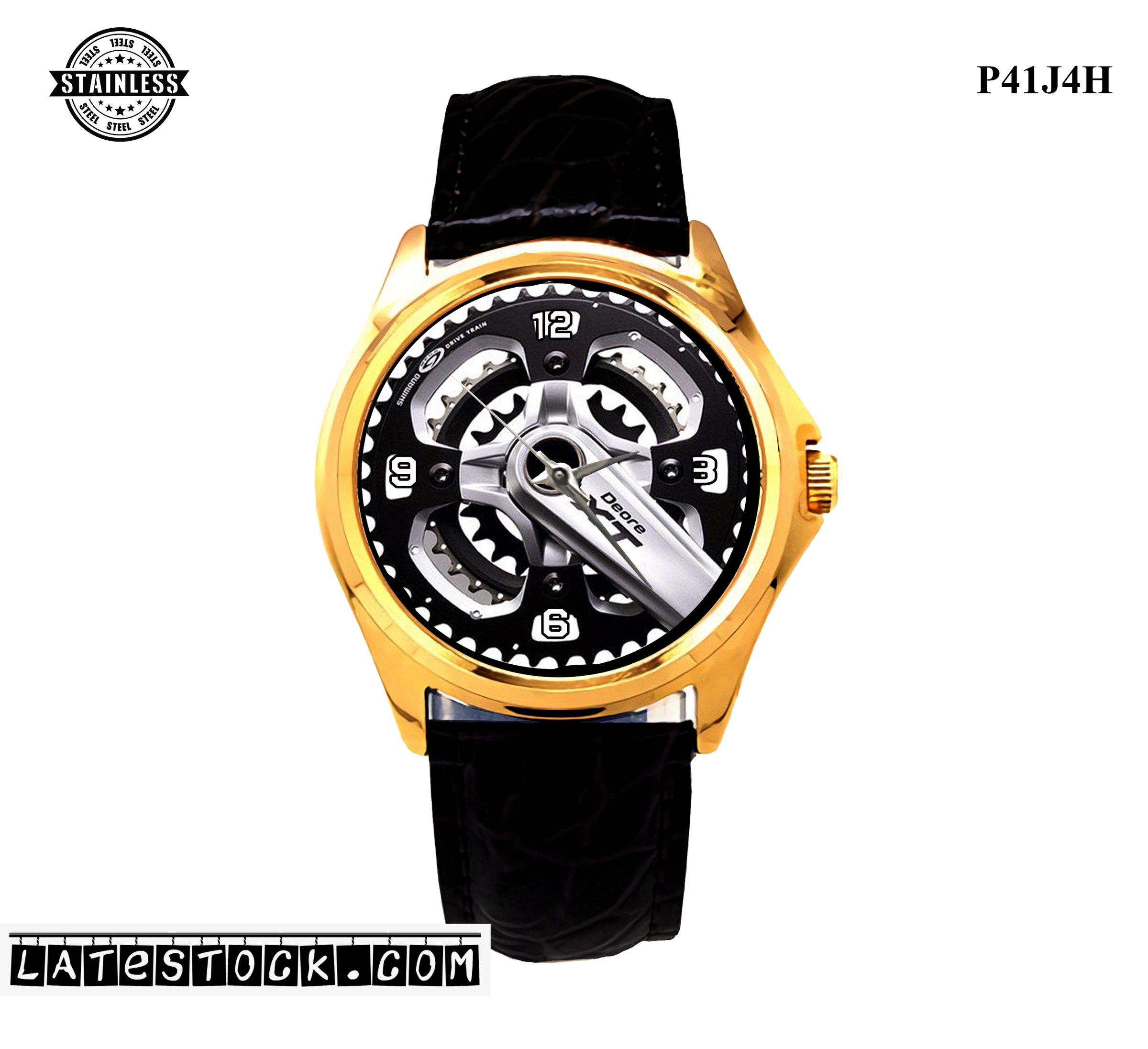 LIMITED EDITION!! Cycle Shimano Deore Xt Sport Metal Watch.jpg