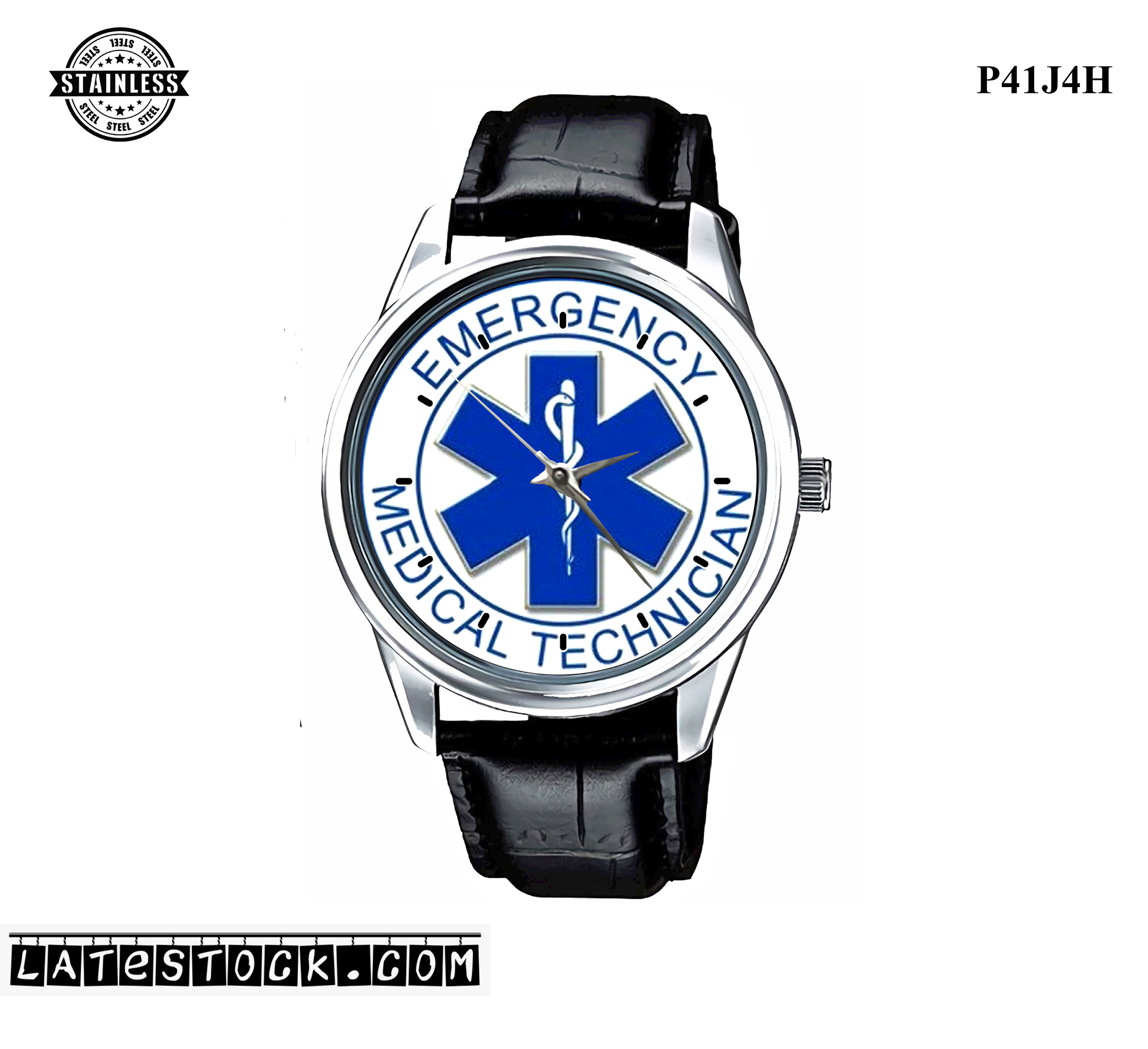 LIMITED EDITION!! EMT Star of Life EMS Rescue Paramedic Sport Metal Watch PJ115.jpg