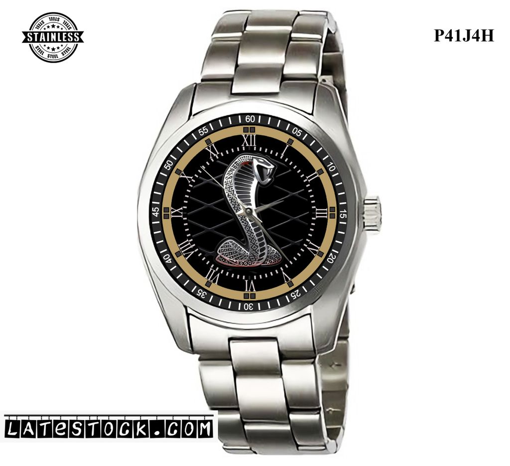 LIMITED EDITION!! Ford Mustang Shelby Cobra GT500 Sport Metal Watch b.jpg