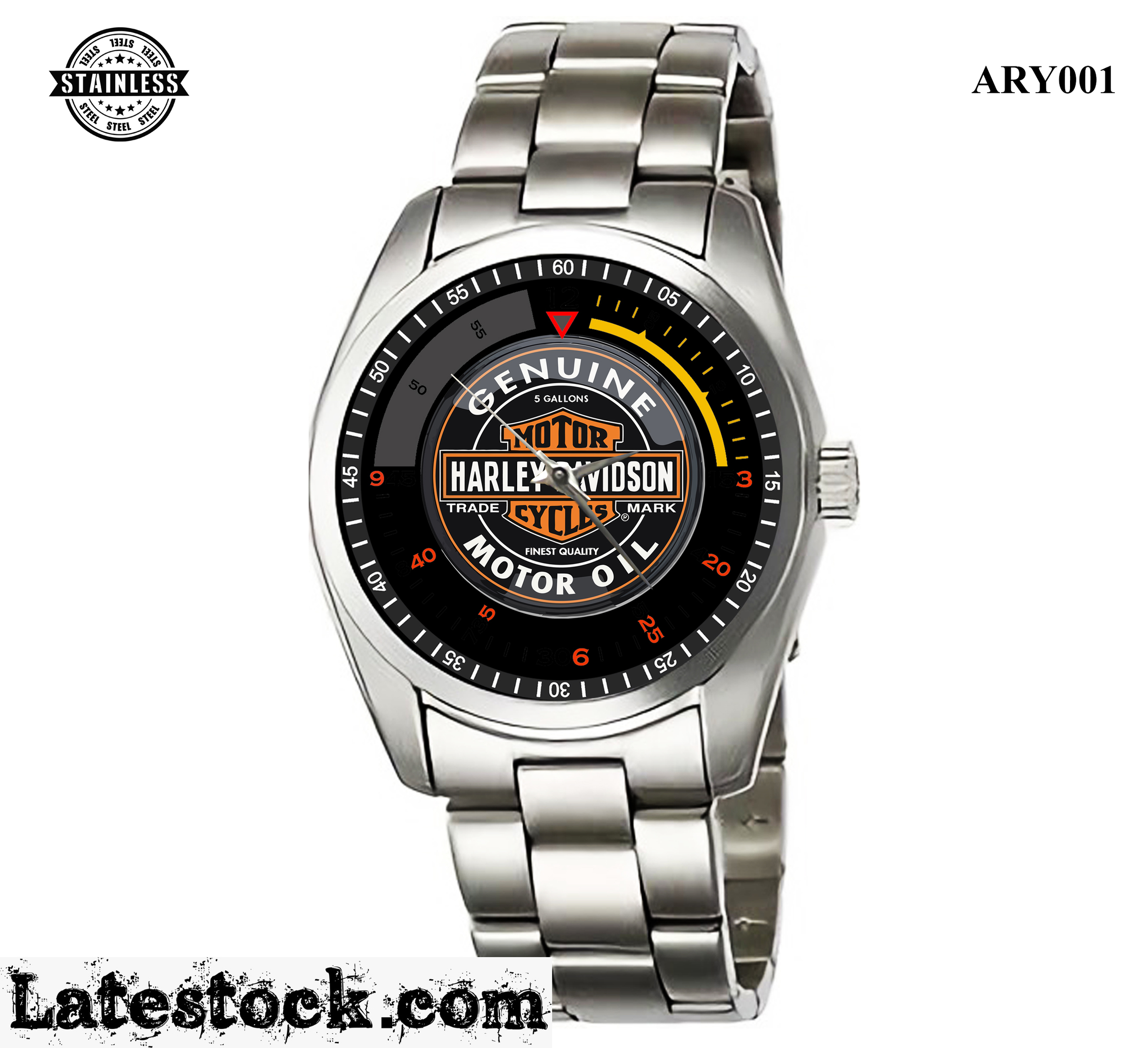 1.Rare new design_Harley Davidson Genuine_Sport Metal Watches.jpg