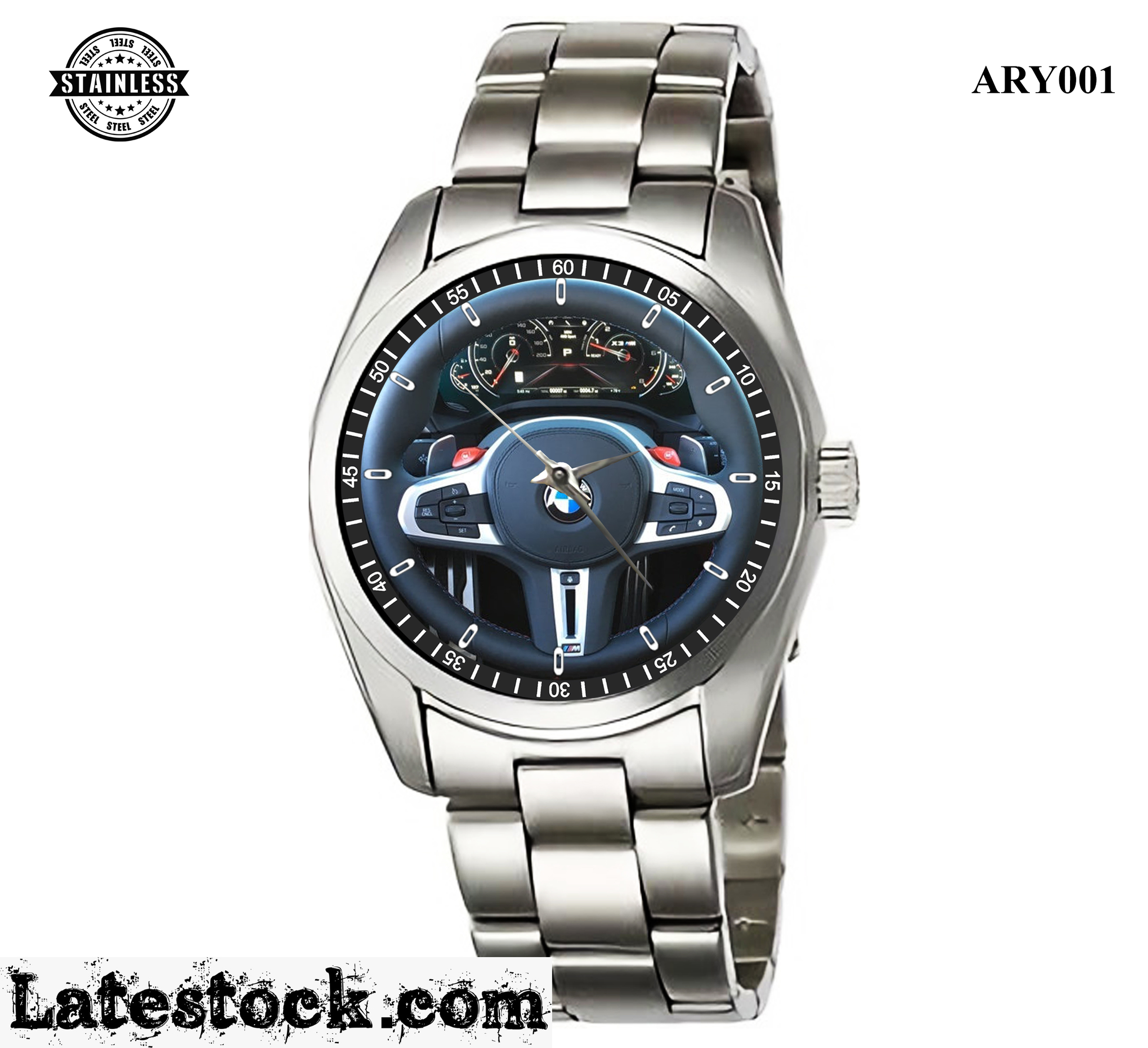 ARY001_Rare design_BMW X3  Steering Wheel _ Sport Metal Watches.jpg