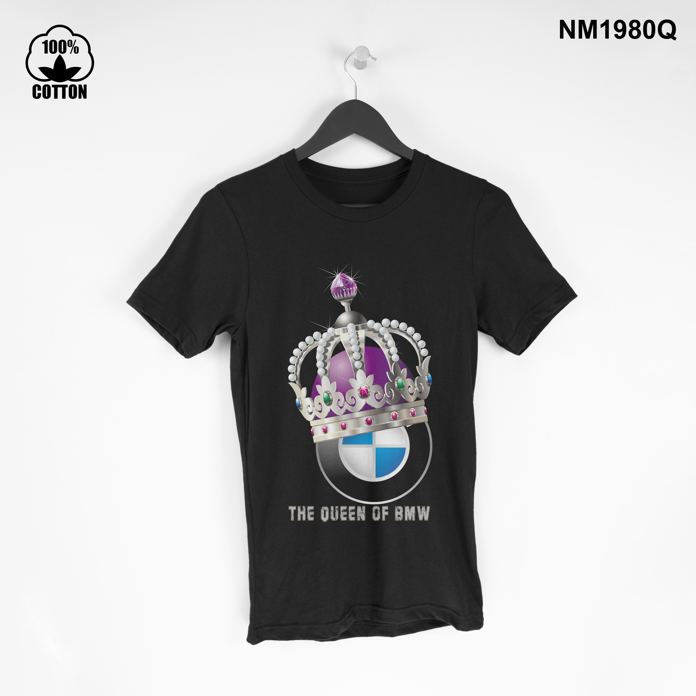 1.37 the Queen of BMW T Shirt Tee mens Clothing New Design black.jpg