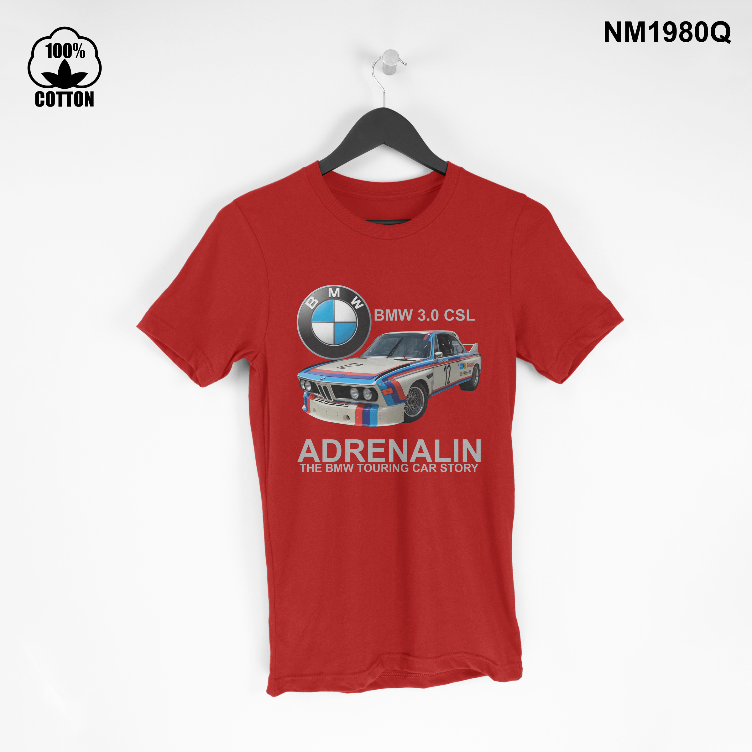 1.45 New Item ADRENALIN The BMW Touring Car Story T Shirt Tee Unisex red.jpg