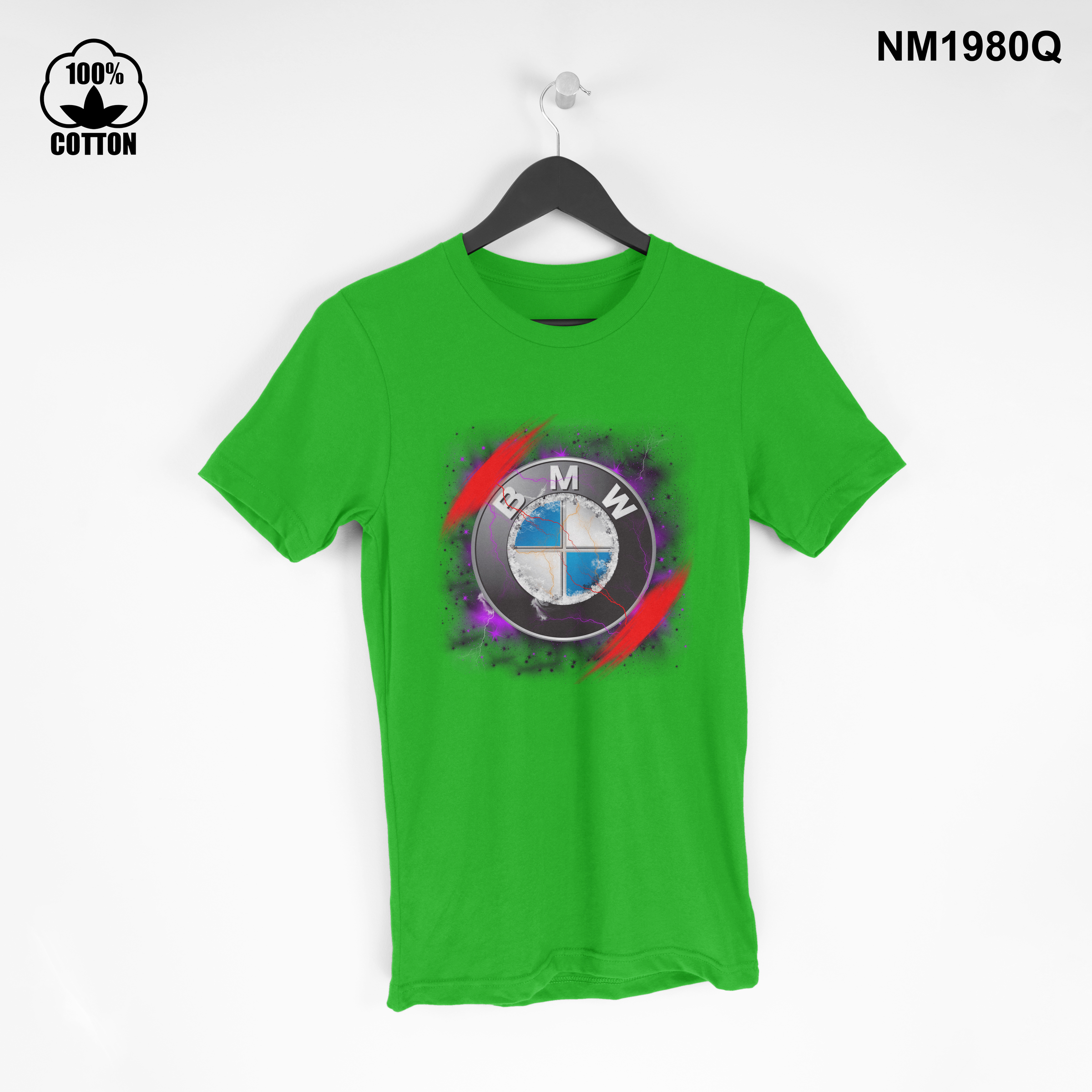 1.47 Rare Iitem BMW space New Design T Shirt Tee Unisex spring green.jpg