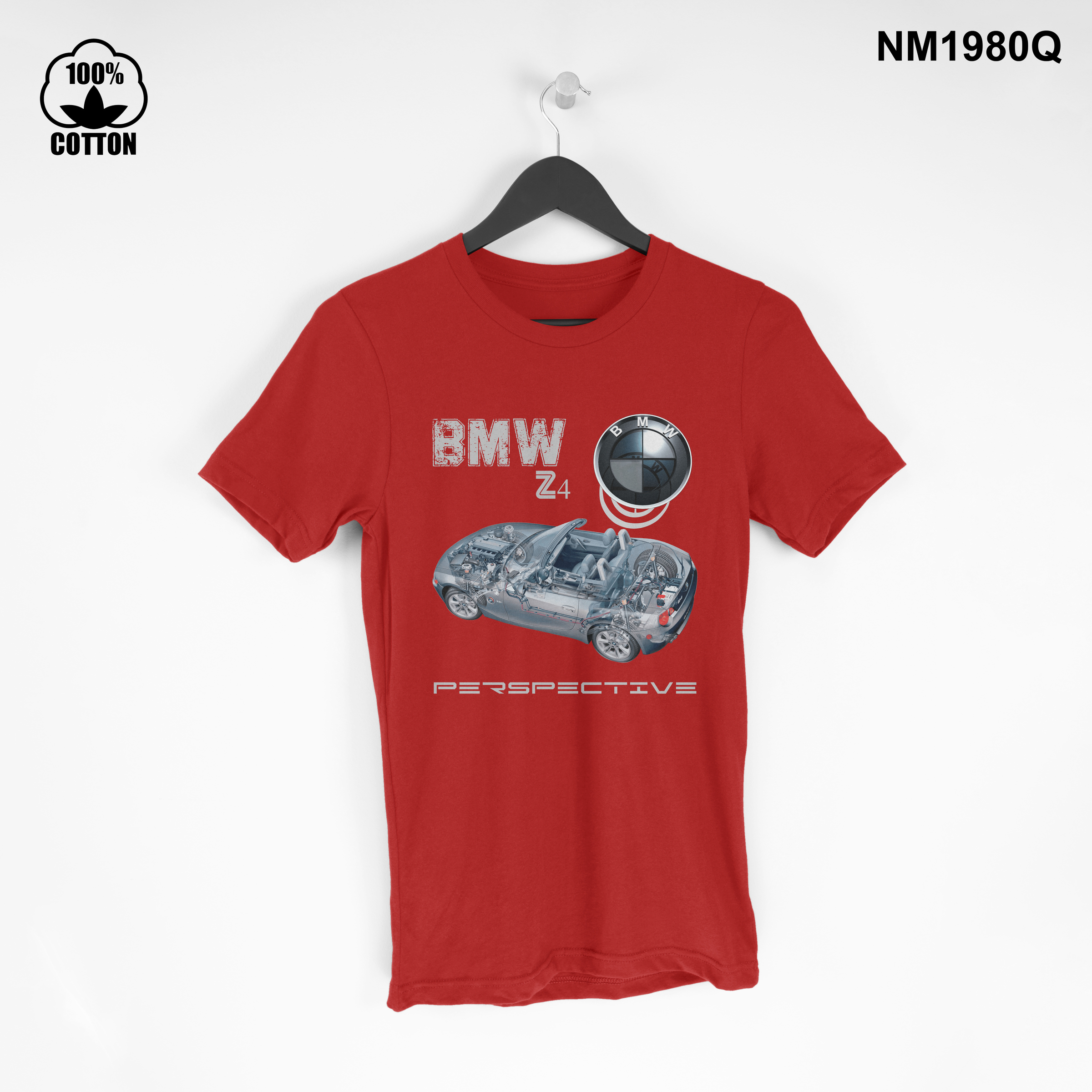1.49 New Design T Shirt Tee BMW Z4 Car Mini coupe perspective Short Sleeve mens Clothing red.jpg