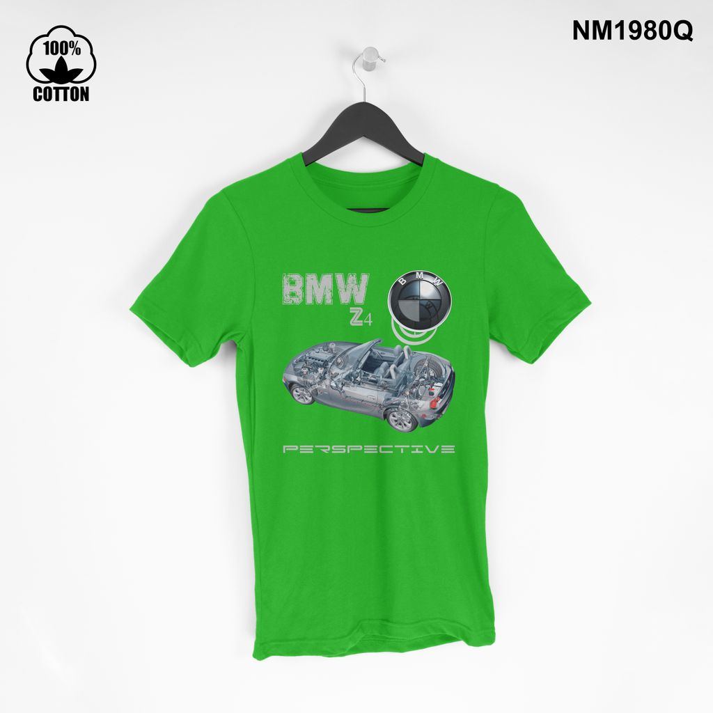 1.49 New Design T Shirt Tee BMW Z4 Car Mini coupe perspective Short Sleeve mens Clothing spring green.jpg