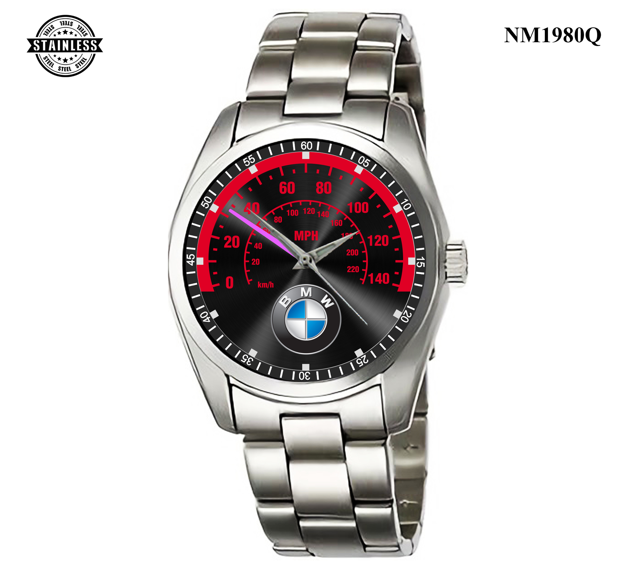 1.27 New Design bmw logo speed All Series Sport Metal Watch.jpg