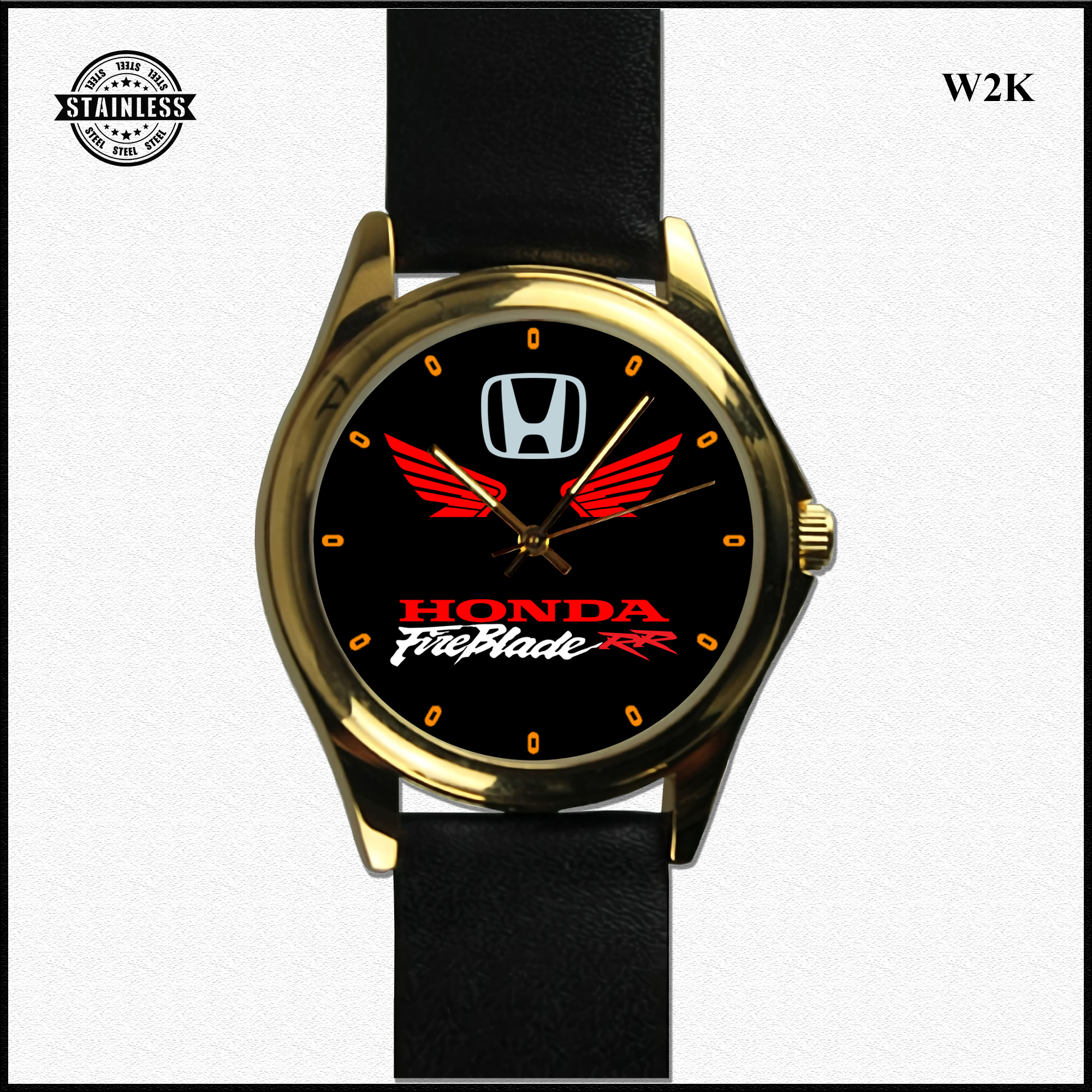 1. Hot Rare New Design honda fireblade RR leather gold.jpg
