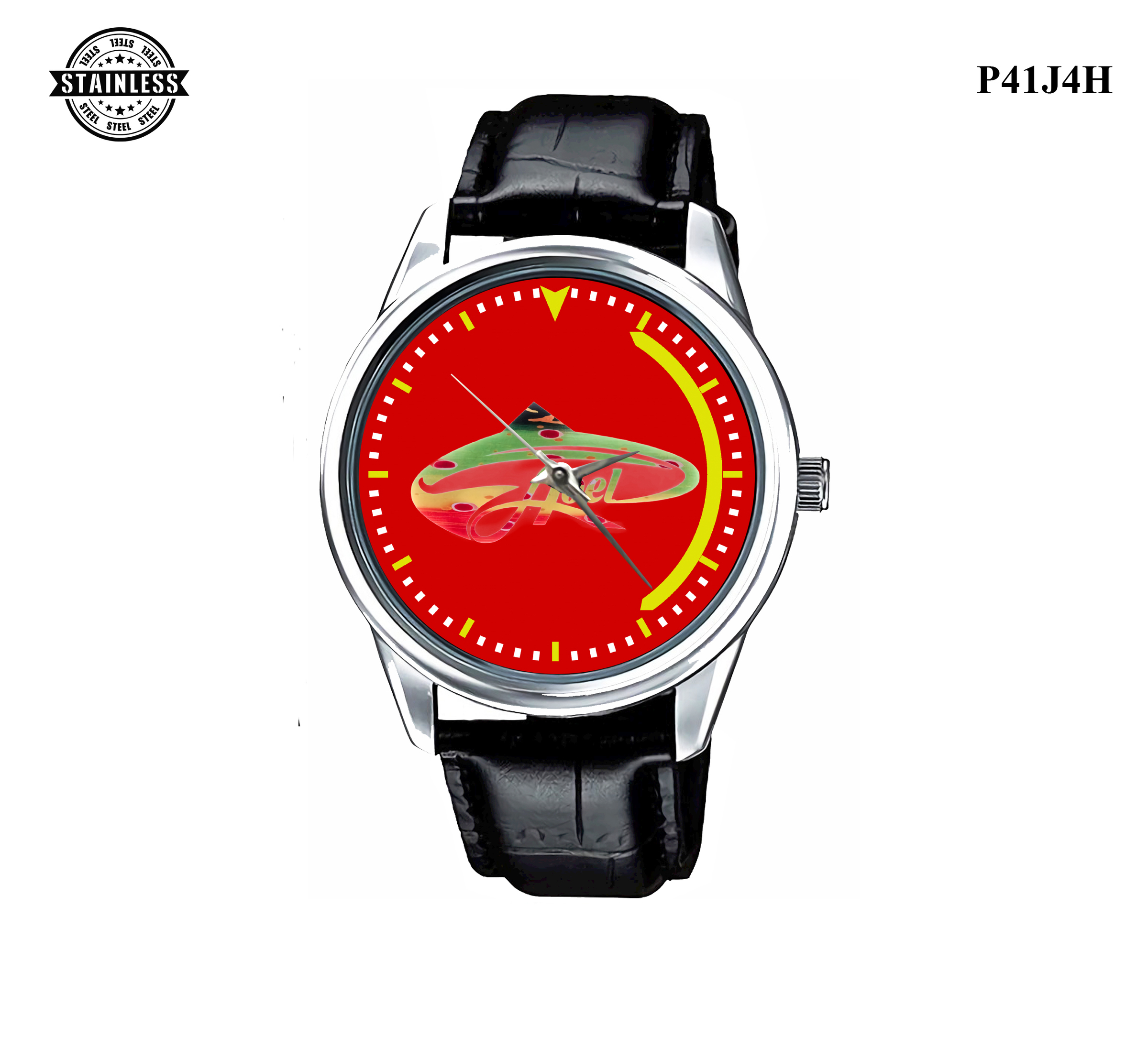 LIMITED EDITION!! Abel Fish logo Sport Metal Watch Best Give a.jpg