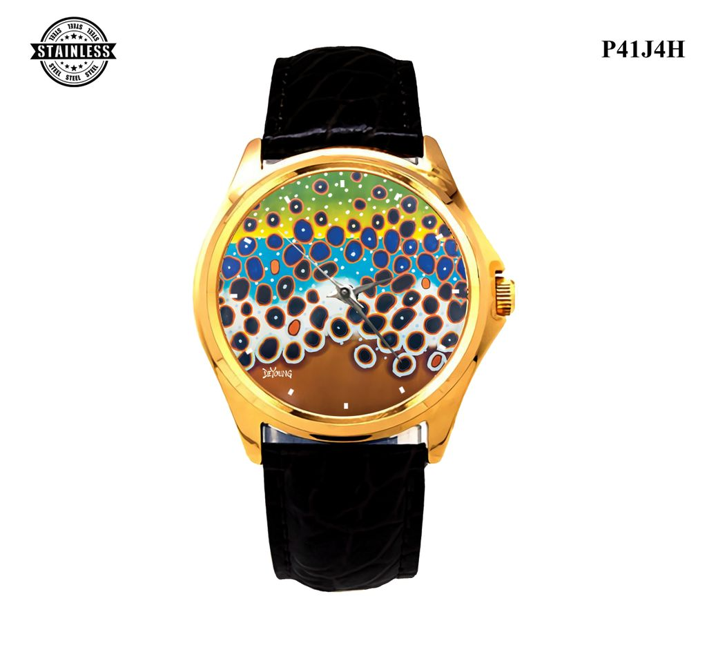 LIMITED EDITION!! DeYoung-Brown-Flank Sport Metal Watch Best Give.jpg