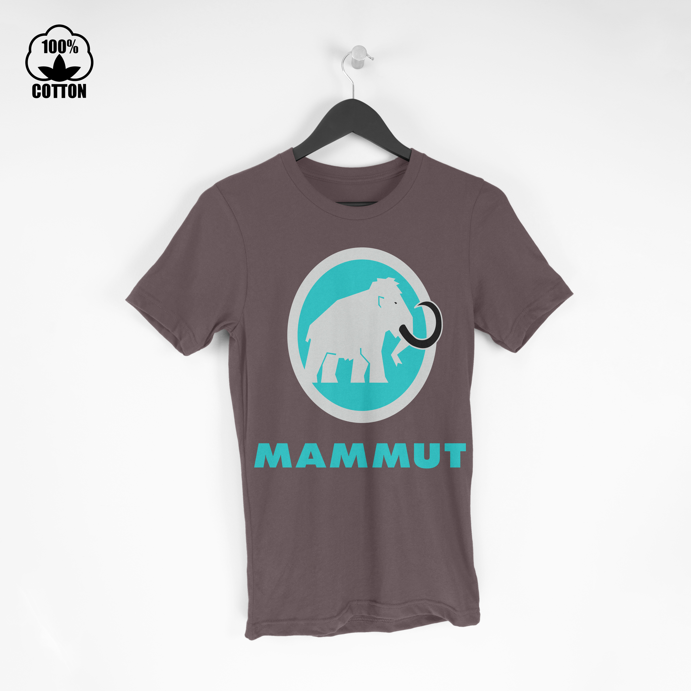 Mammut Logo Tee Size S-XXL USA SaddleBrown.jpg