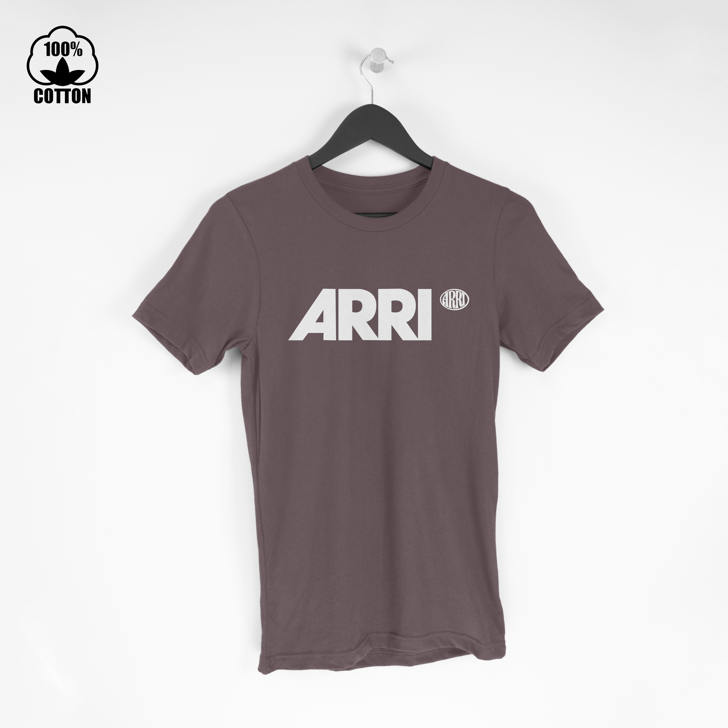 Arri Inspiring Your Vision Small Logo New Mens Tshirt Tee Size S-XXL SaddleBrown.jpg