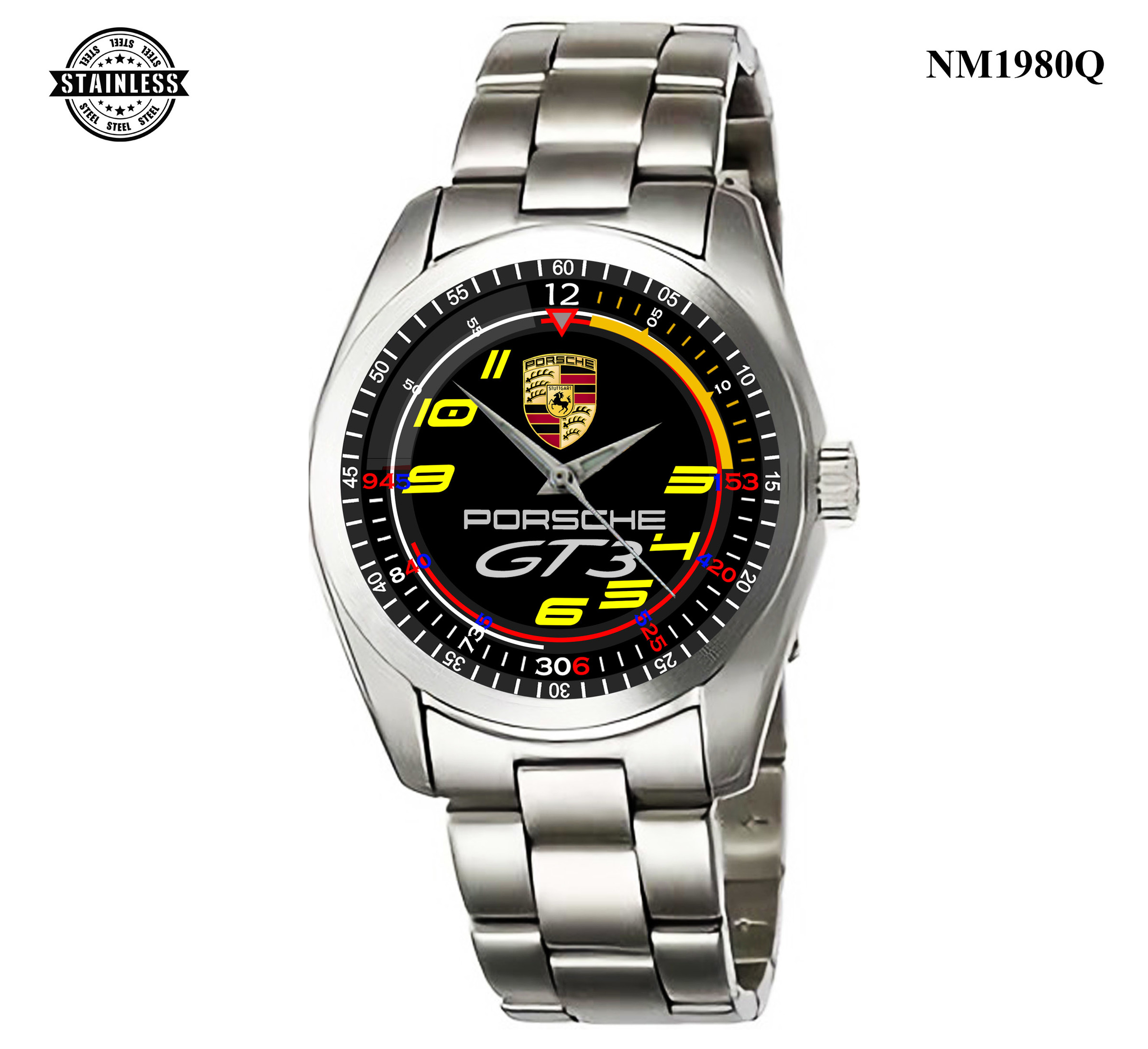 1.8 Rare Item Mens Jewelery porsche cayenne-gt 3 911 Sport Metal Watch.jpg
