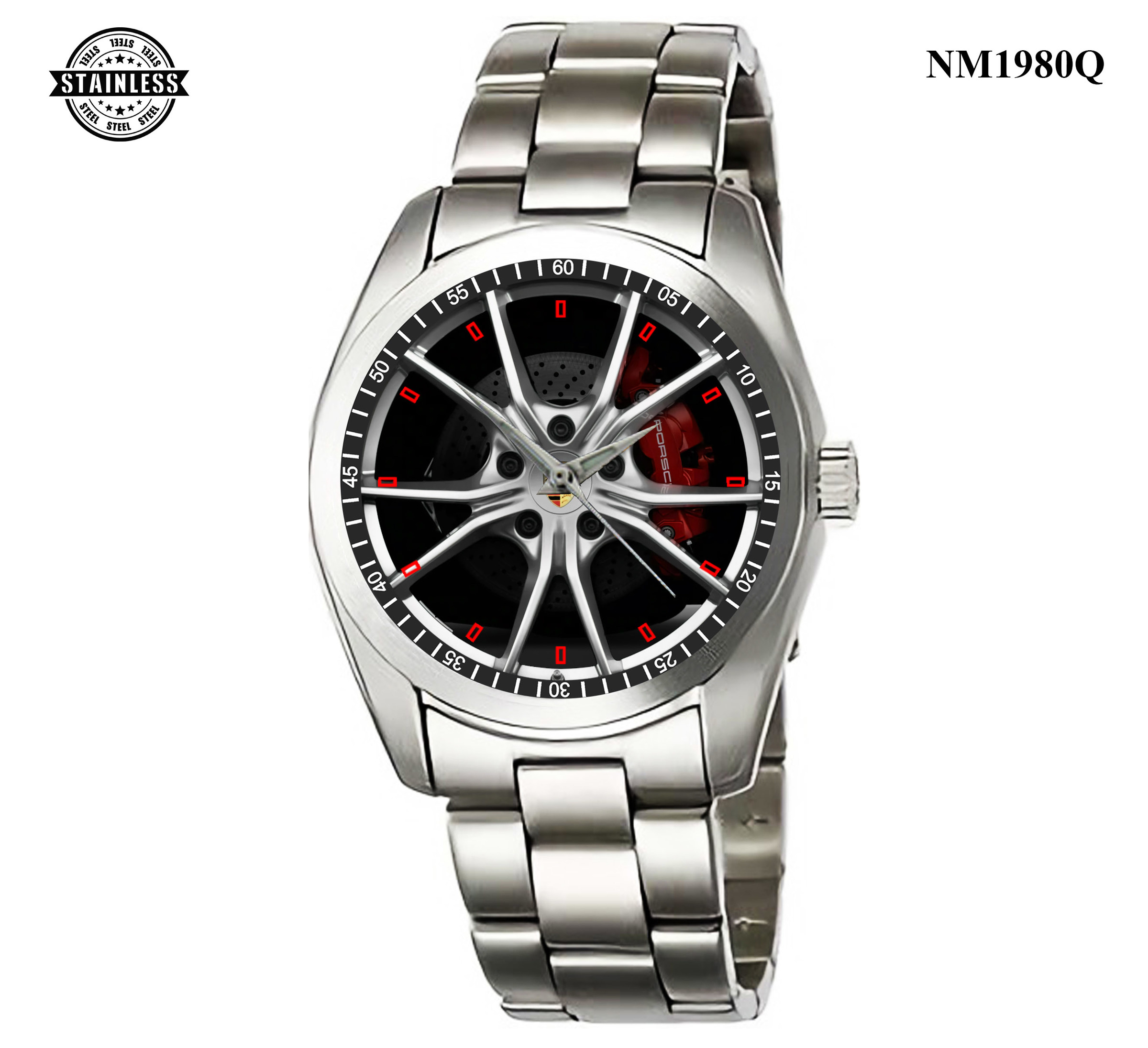 1.15 New Design 2018 porsche 718 cayman s coupe wheel Sport Metal Watch.jpg