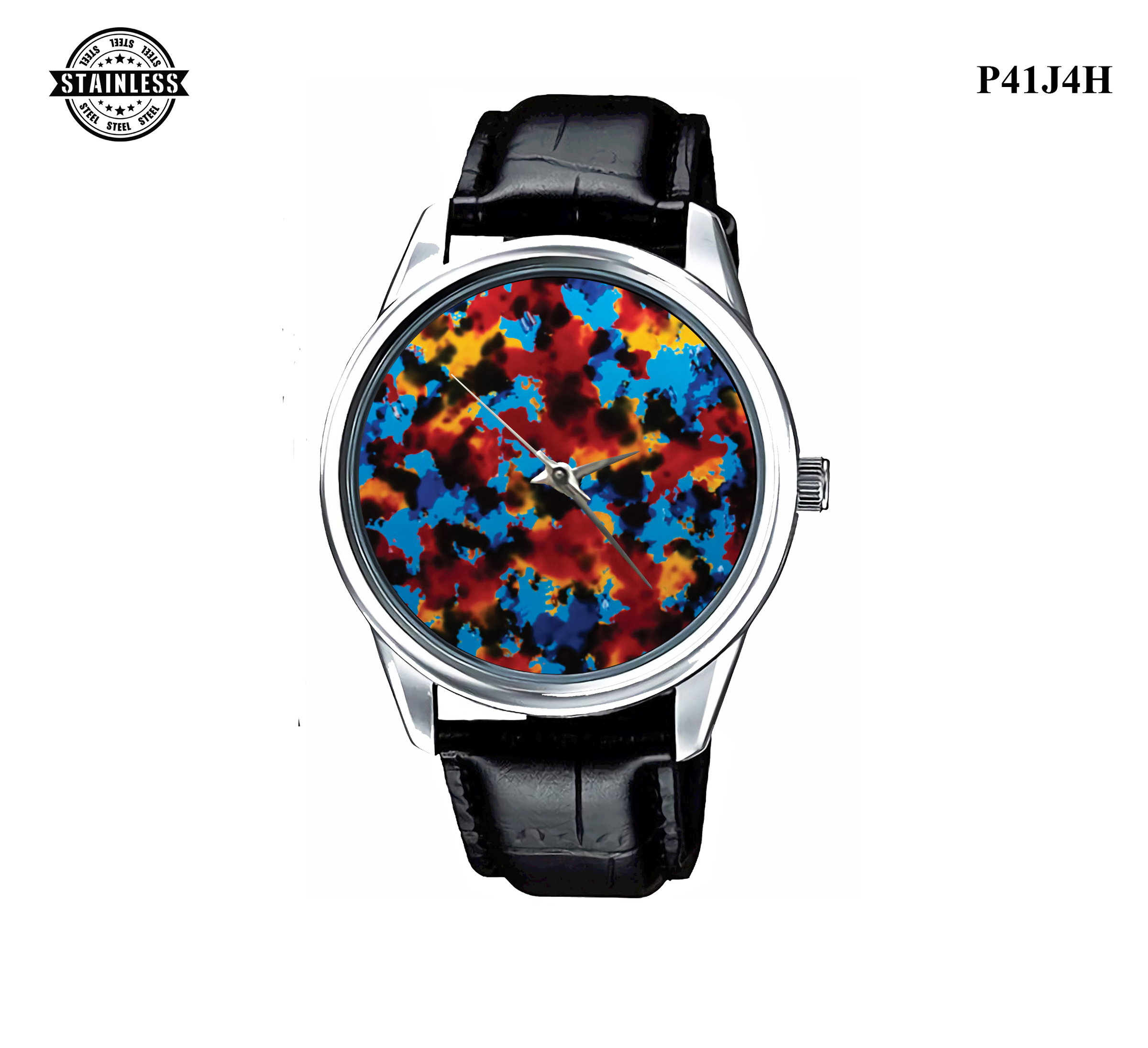 LIMITED EDITION!! Coral Flay Fishing Sport Metal Watch a.jpg