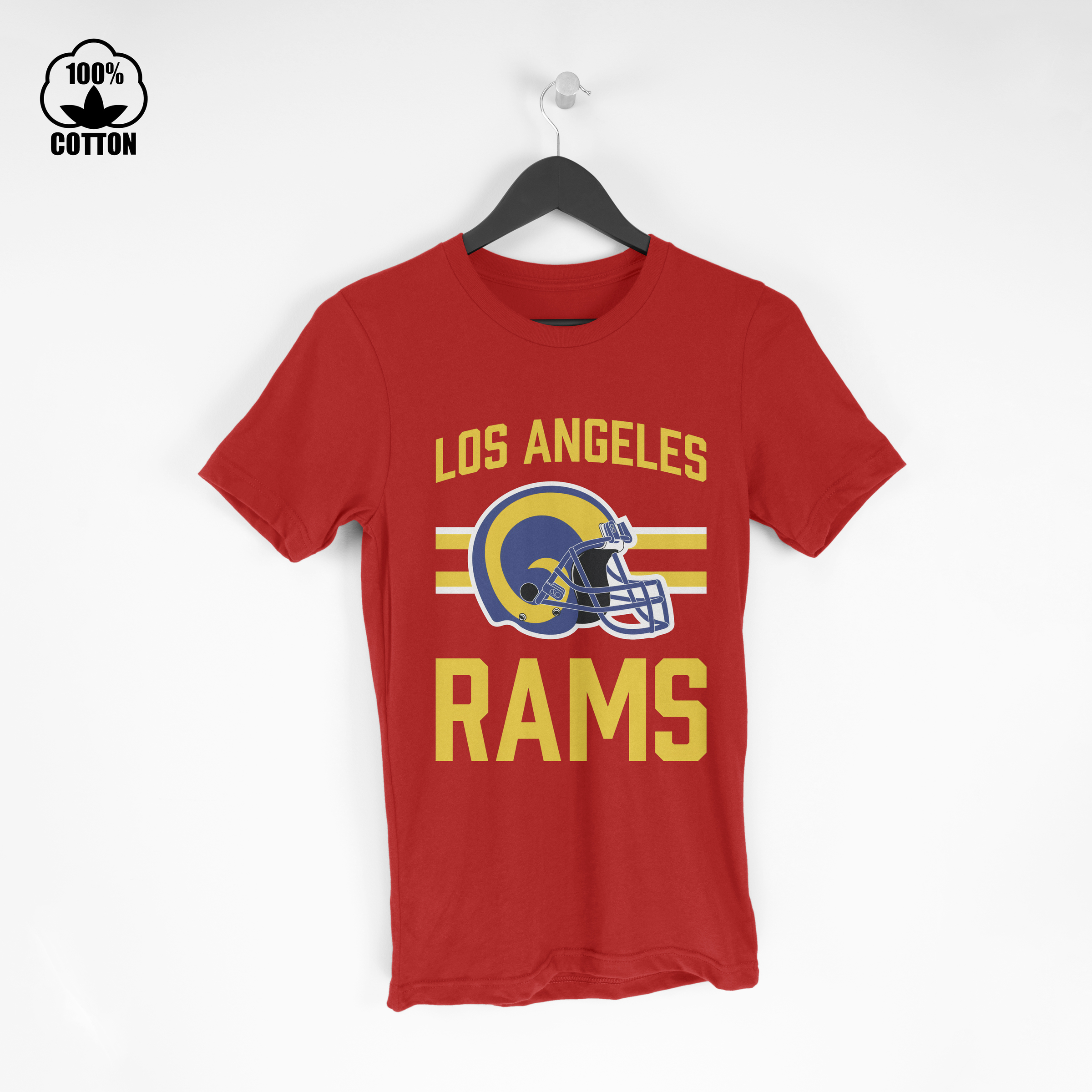 LIMITED EDITION!! Los Angeles Rams OD4 T Shirt Tee Red.jpg