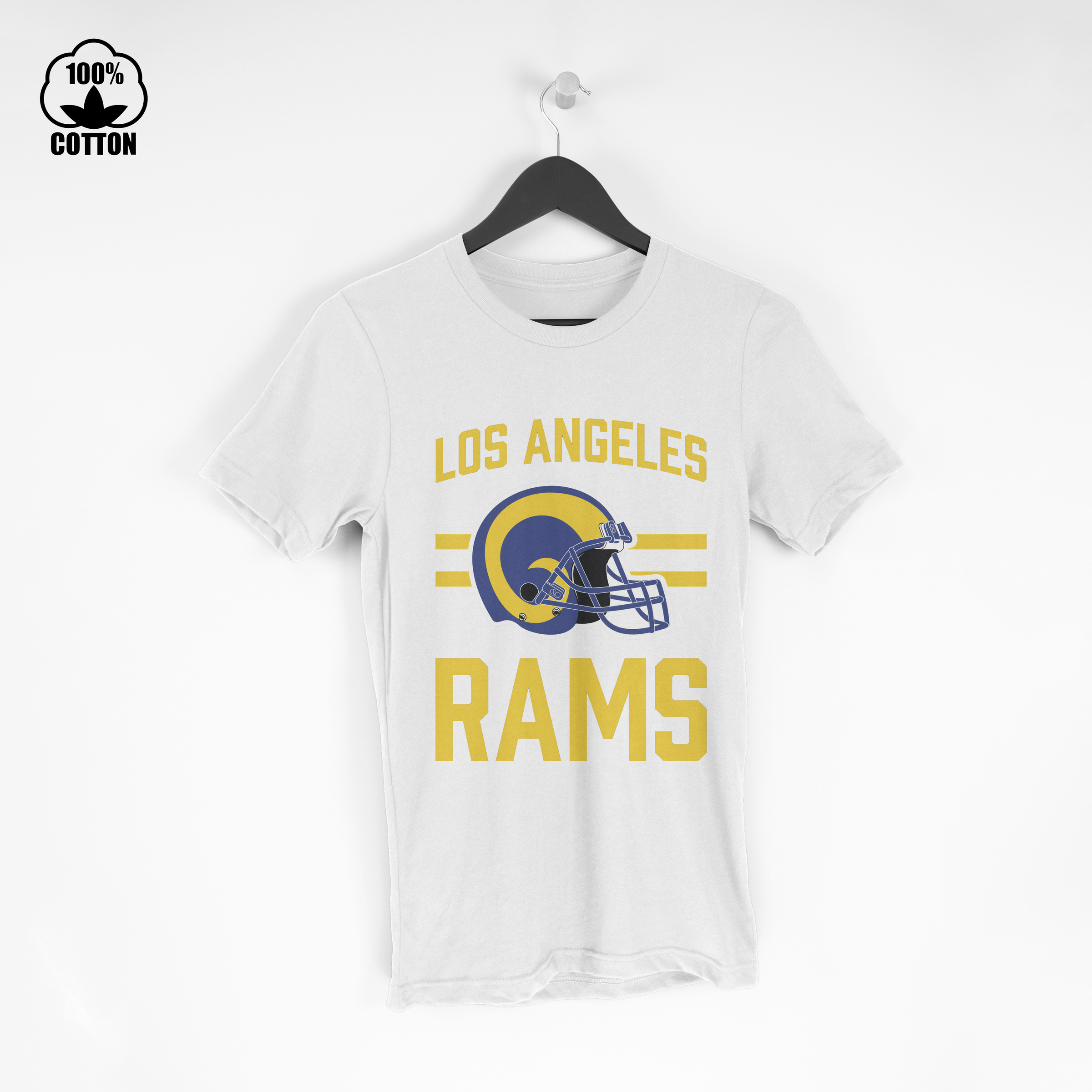 LIMITED EDITION!! Los Angeles Rams OD4 T Shirt Tee White.jpg