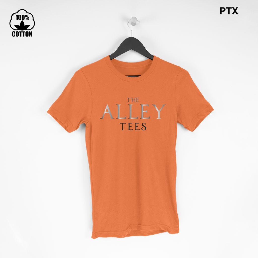 The Alley Tees T-Shirt Size S-XXL USA Chocolate.jpg