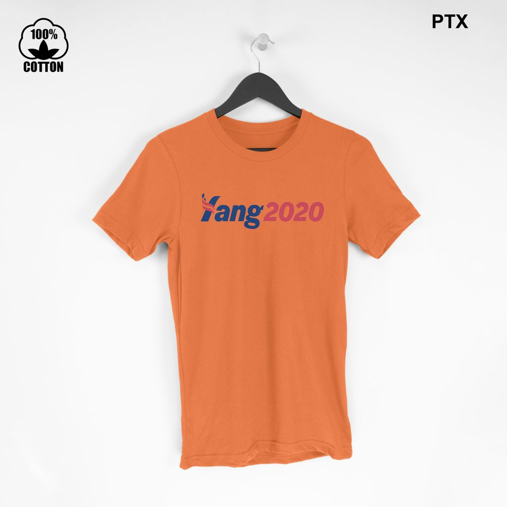 Andrew Yang 2020 For President T-Shirt Size S-XXL USA  Chocolate.jpg