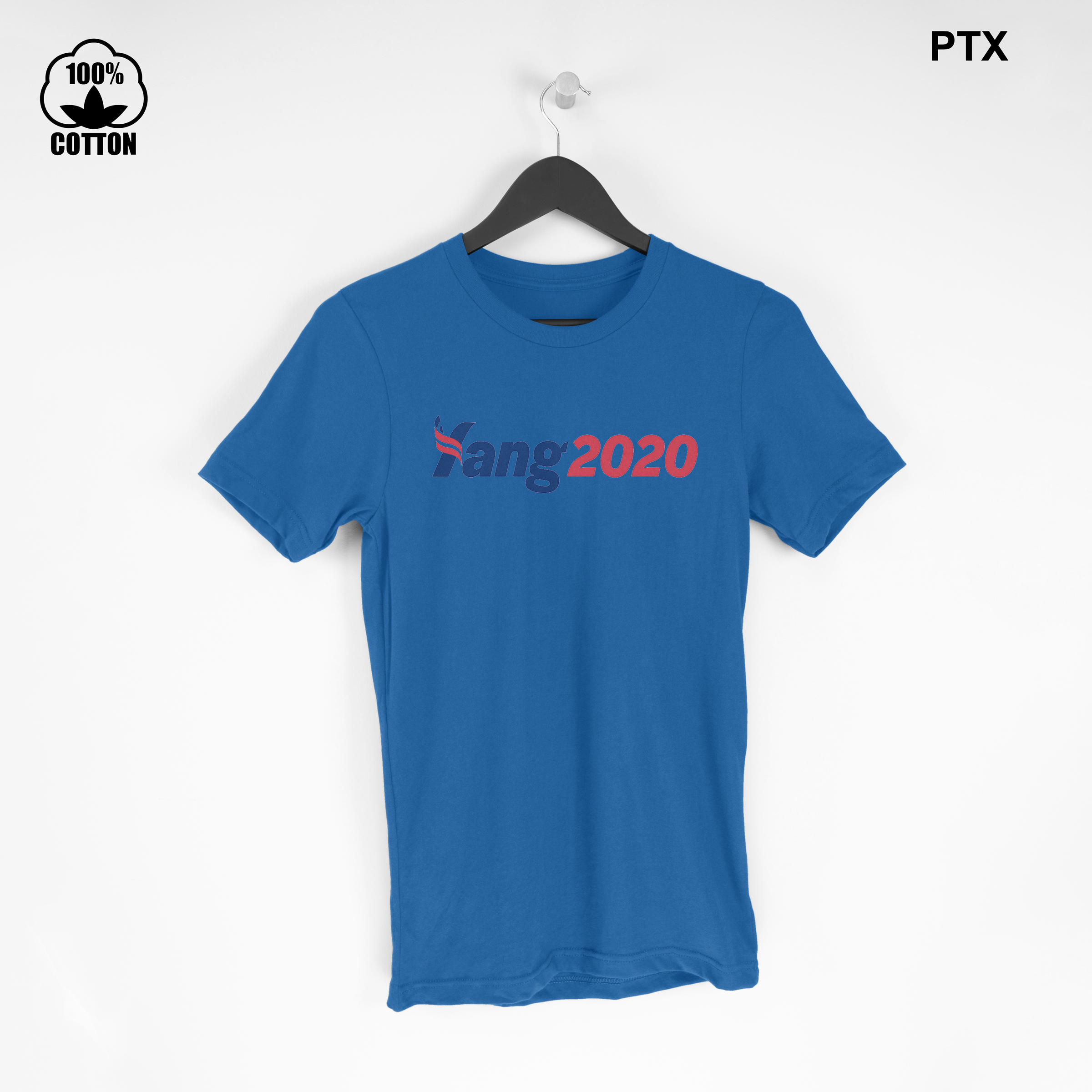 Andrew Yang 2020 For President T-Shirt Size S-XXL USA  RoyalBlue.jpg