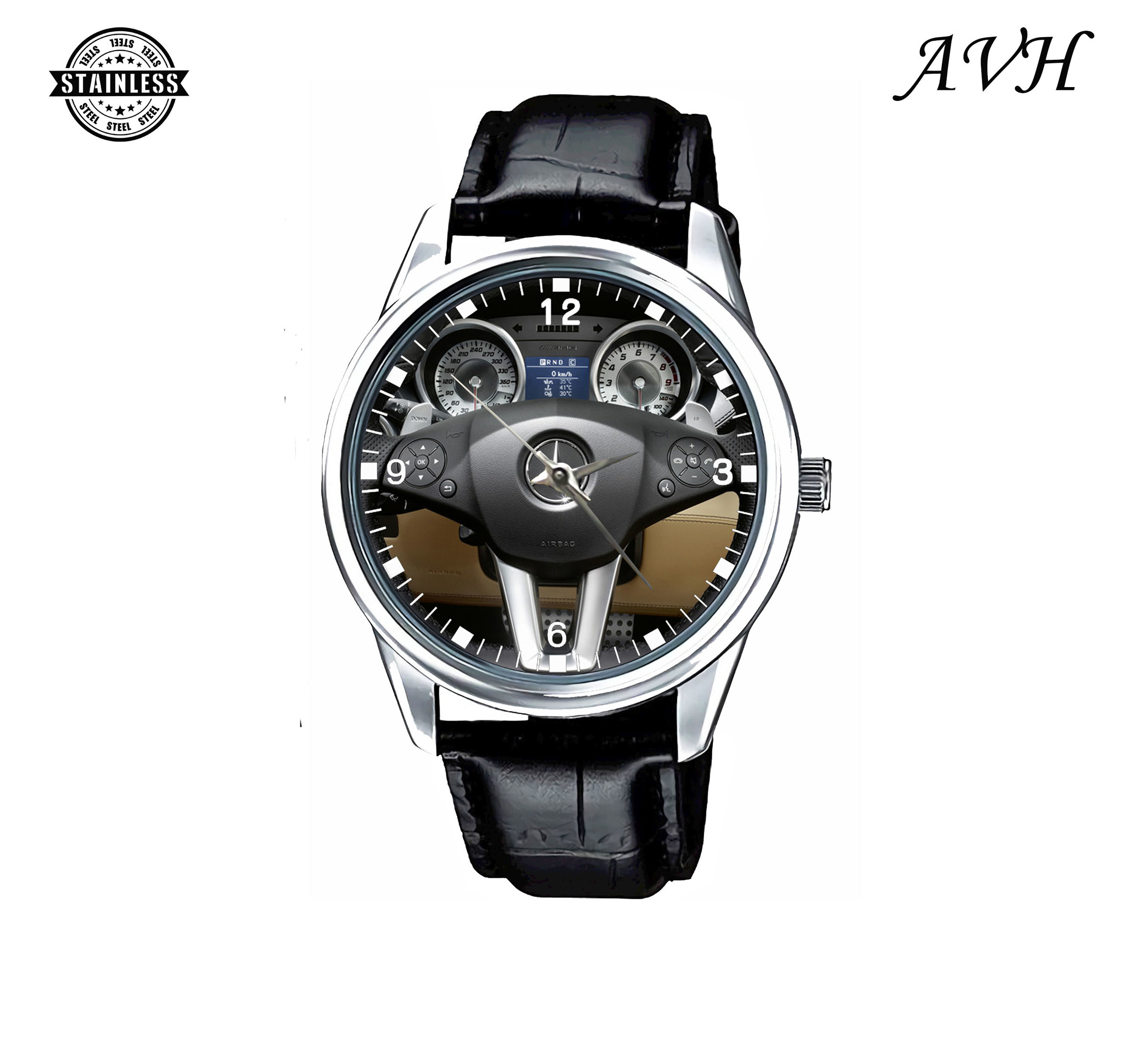 AF30_2012 mercedes benz sls amg roadster Sport Metal Watch 2.jpg