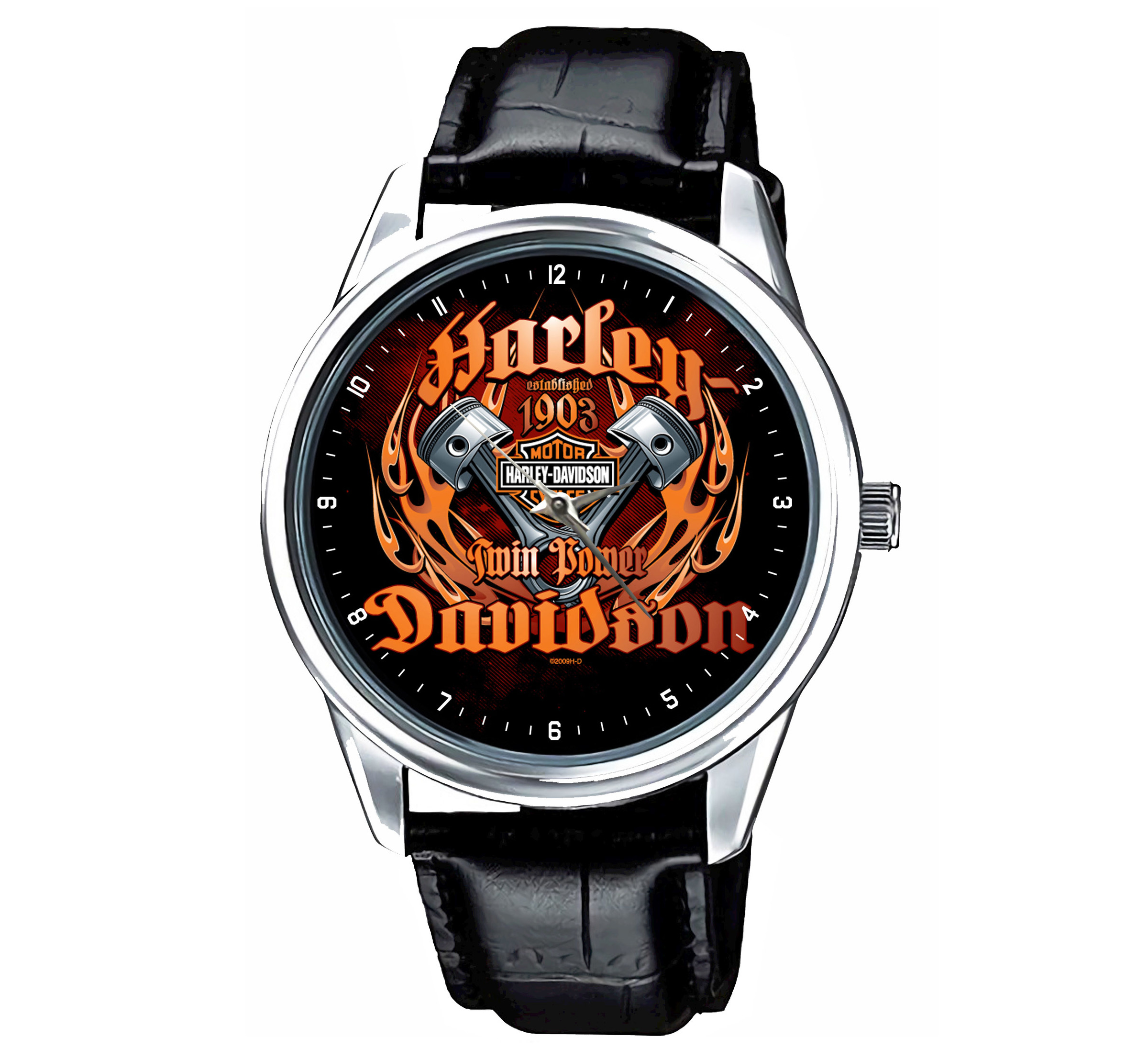066-HOT Reloj Harley Davidson Motorcycles Legend.jpg