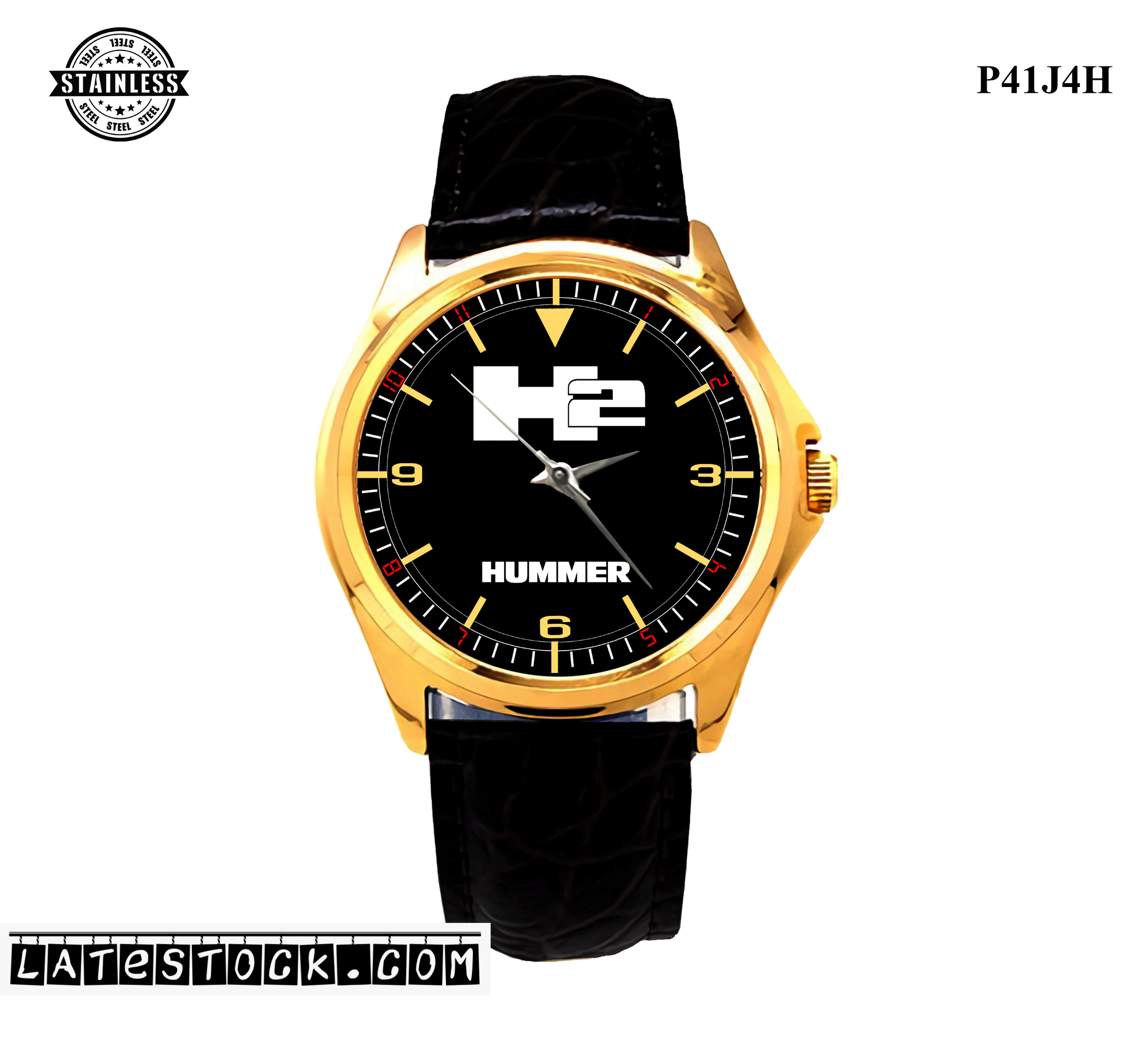 LIMITED EDITION!! Hummer H2 steel Sport Metal Watch b.jpg