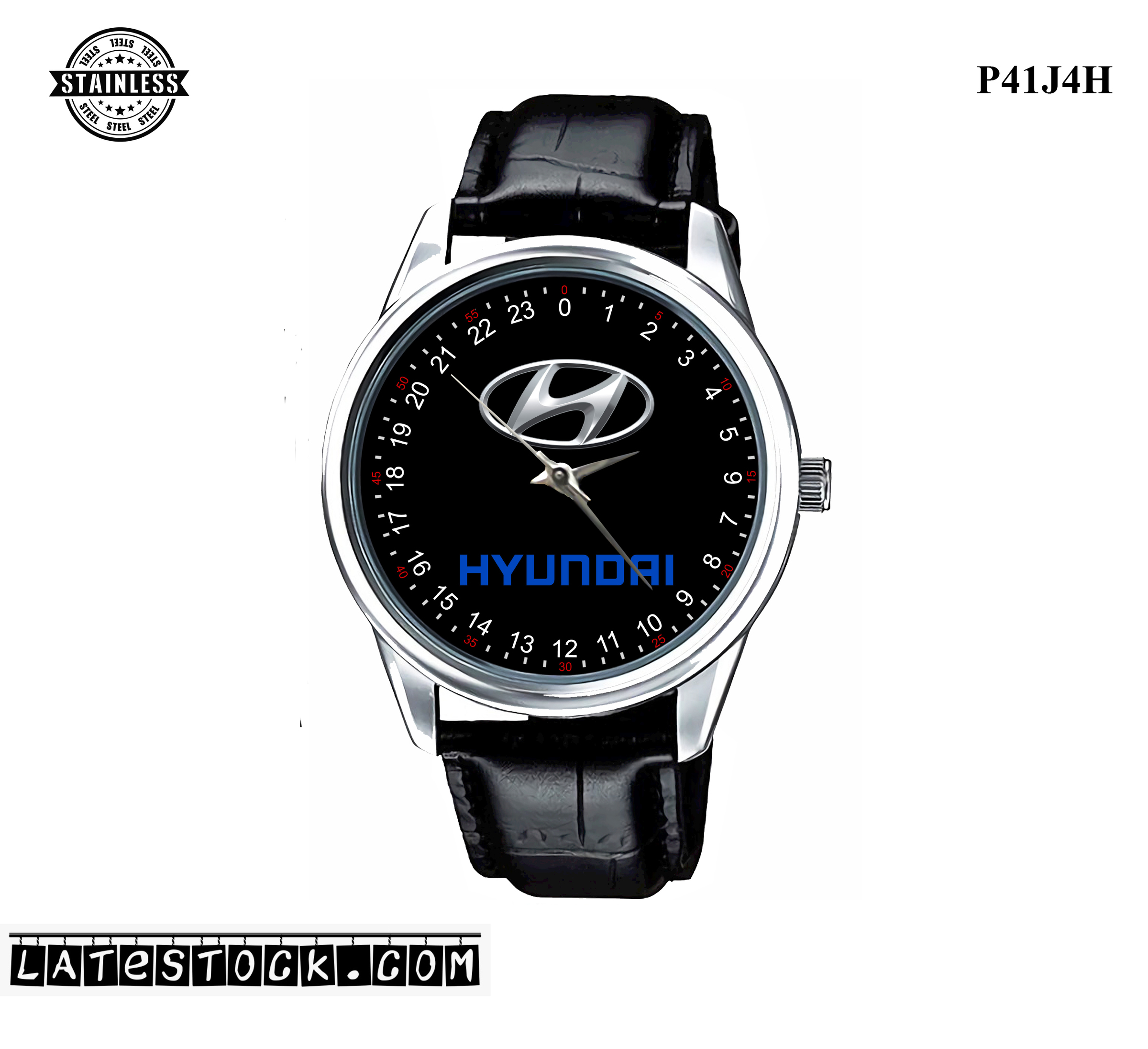LIMITED EDITION!! Hyundai Logo steel Sport Metal Watch a.jpg